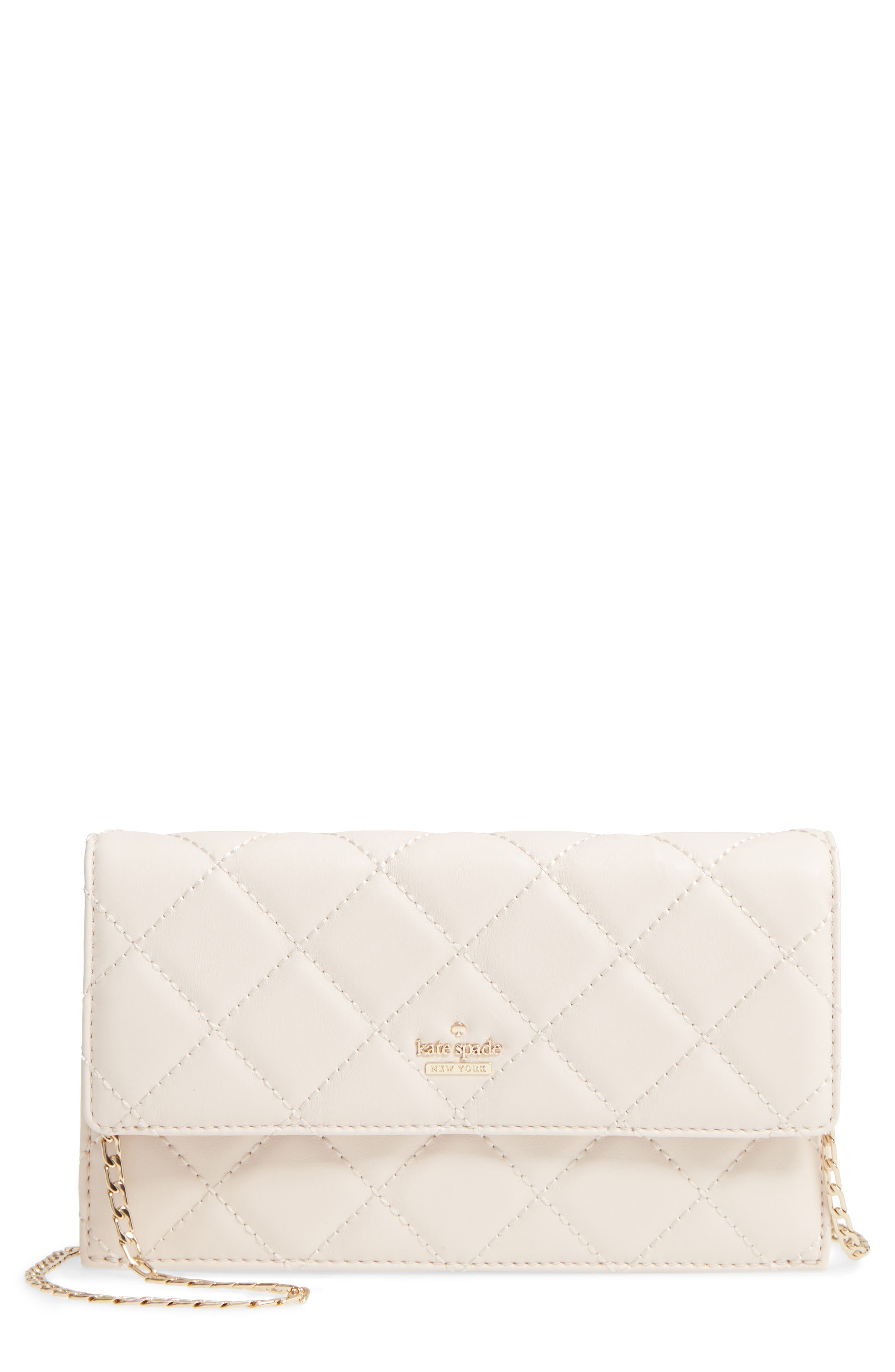 emerson place - brennan quilted leather,                         Main,                         color, Bleach Bone