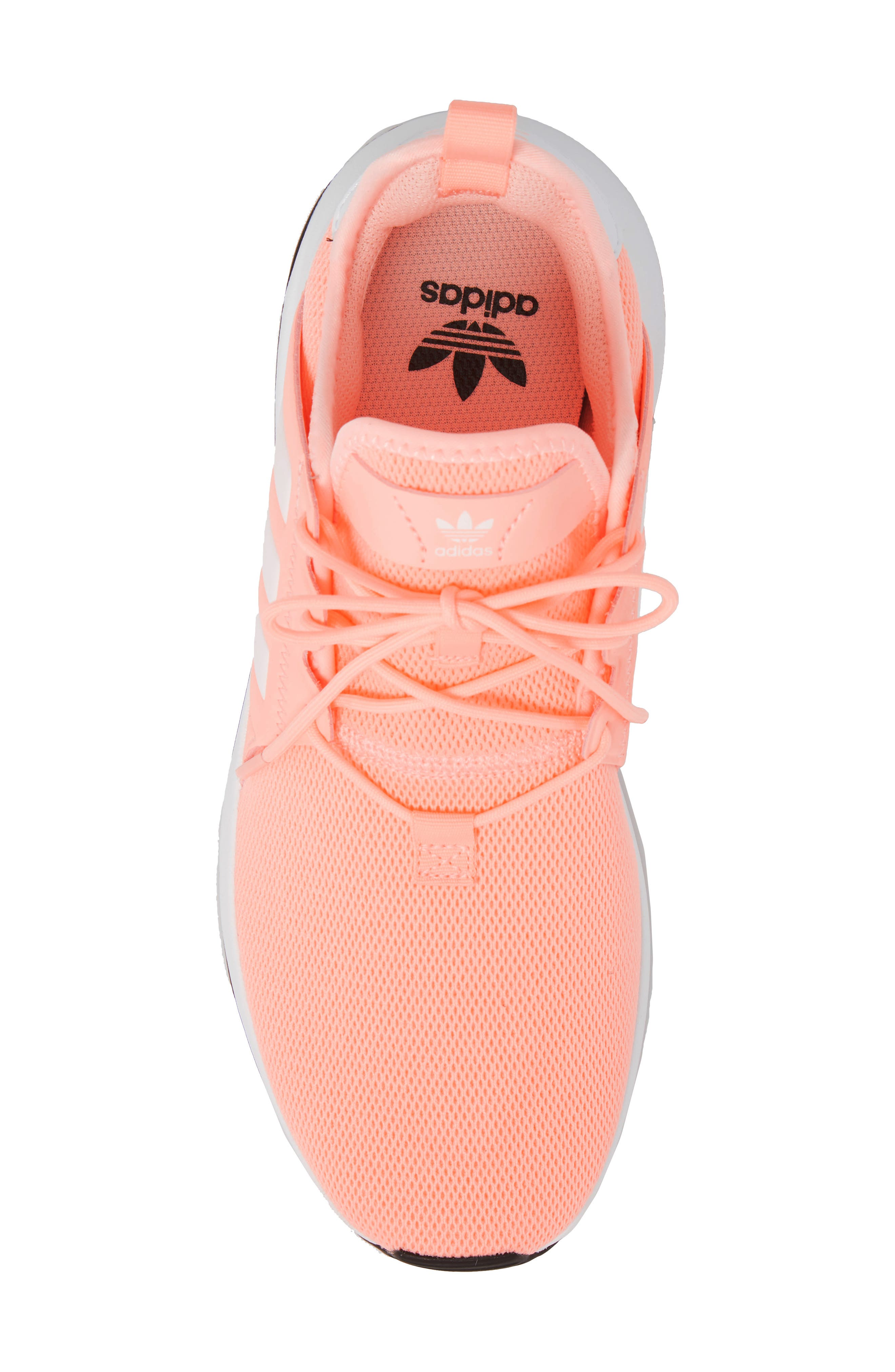 X_PLR Sneaker,                             Alternate thumbnail 3, color,                             Clear Orange/ White