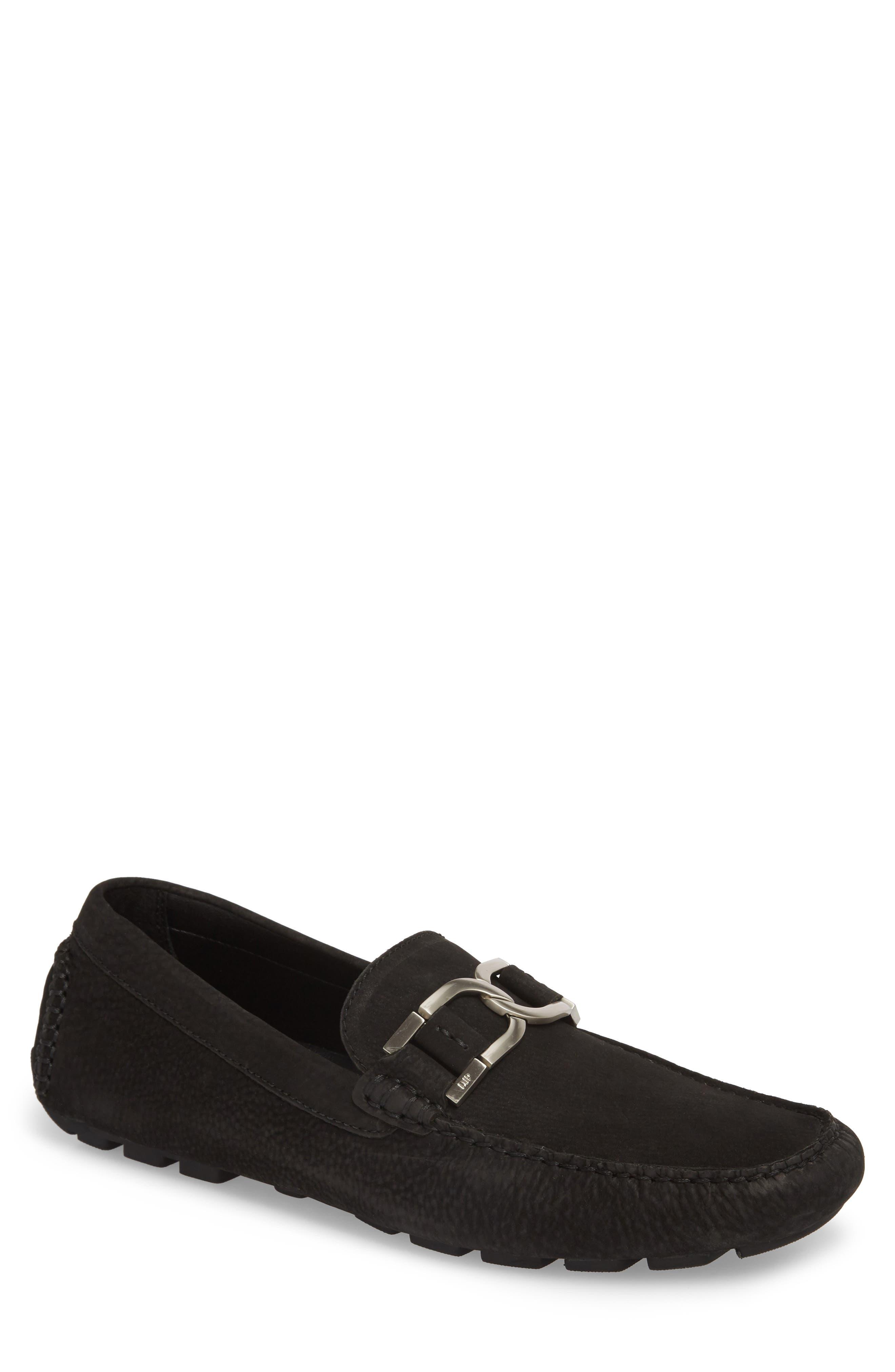 Donald J Pliner 'Derrik' Bit Driving Loafer,                         Main,                         color, Black