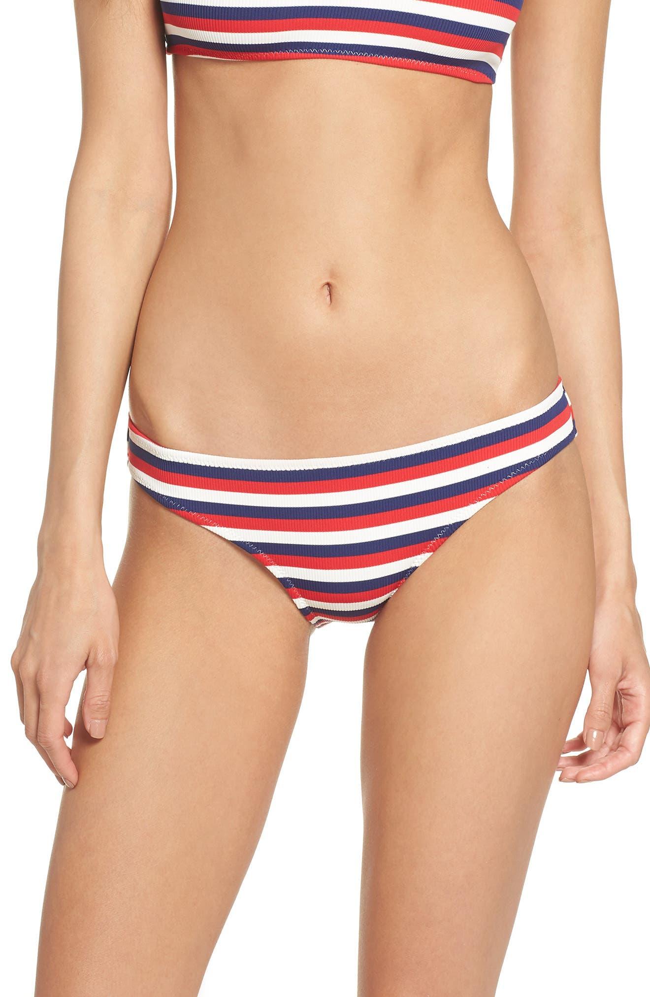 Elle Bikini Bottoms,                         Main,                         color, American Rib