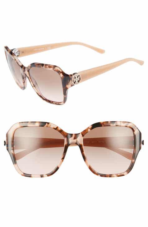 ae3ebf0348 Tory Burch Reva 56mm Square Sunglasses