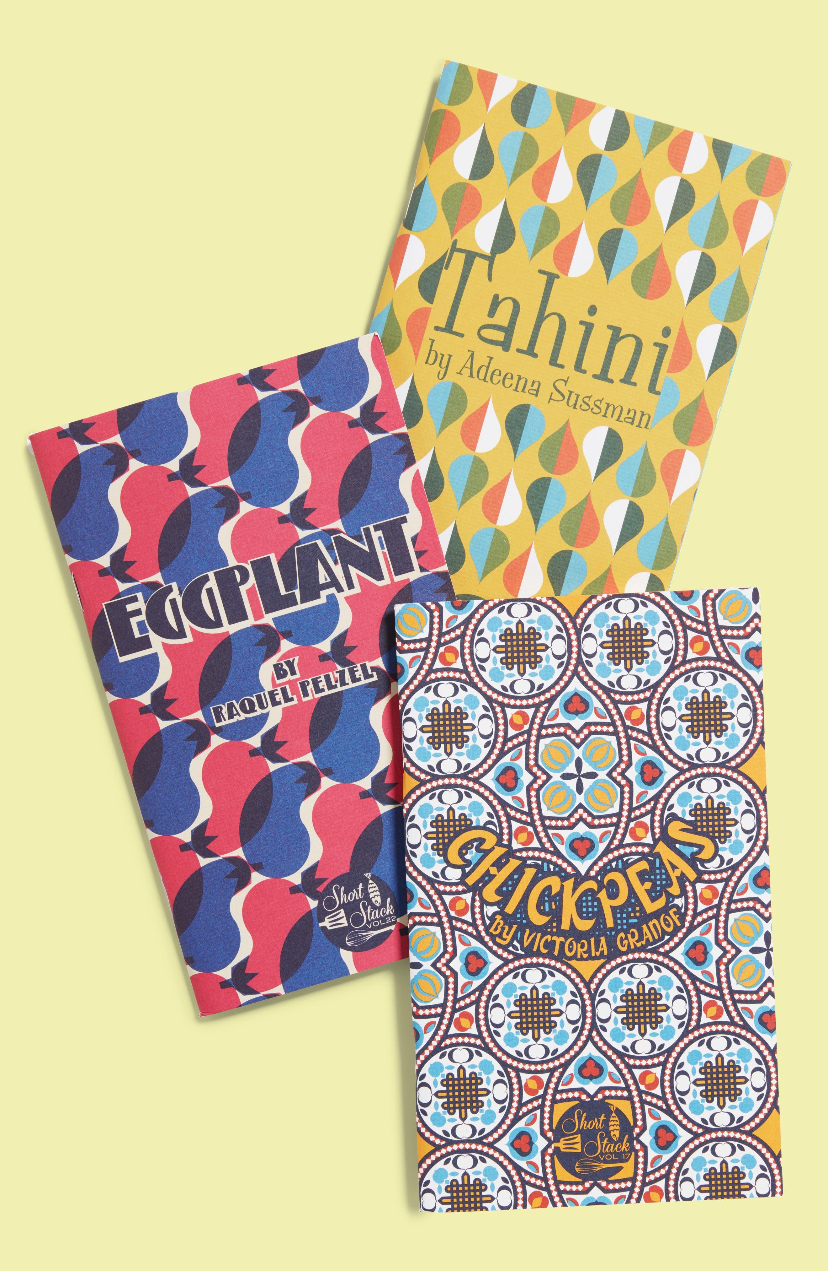 Short Stack Mediterranean Recipe Book Bundle,                         Main,                         color, Multi