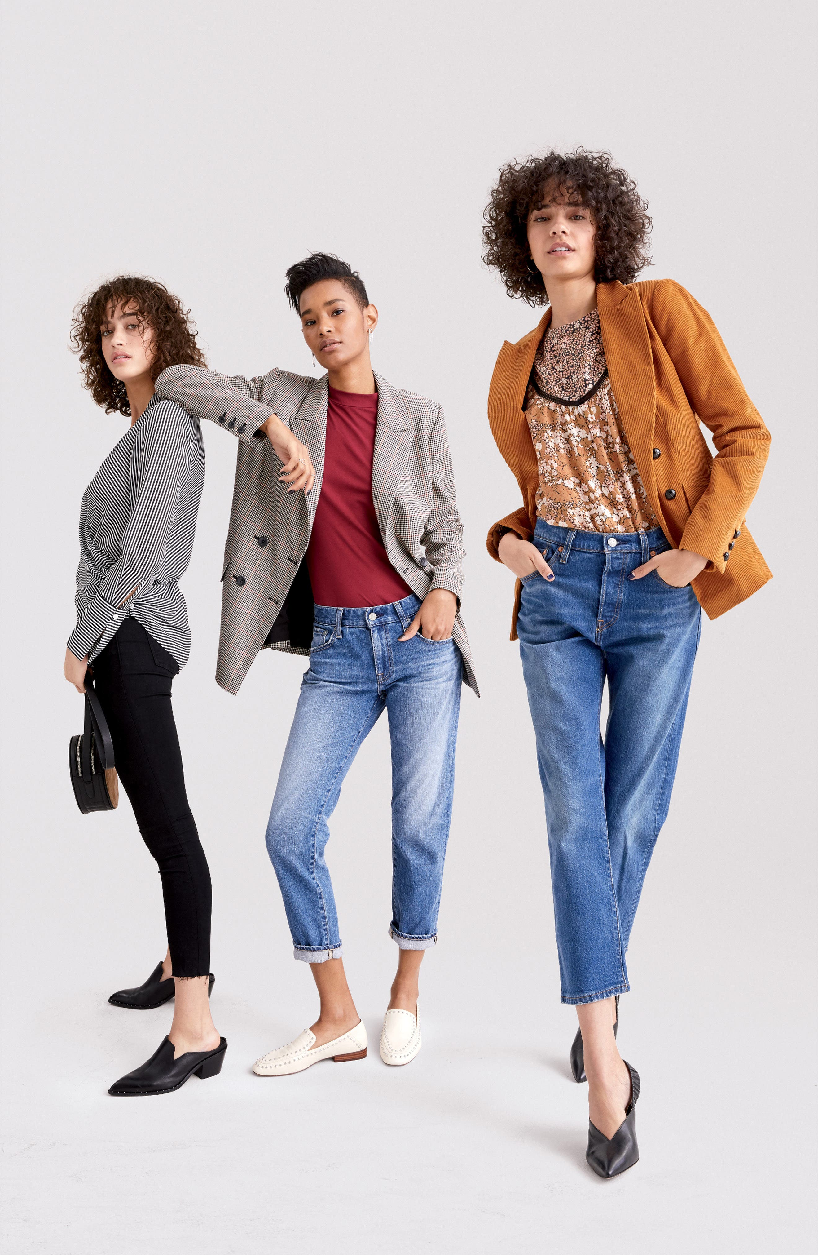 Double Breasted Corduroy Blazer,                             Alternate thumbnail 8, color,