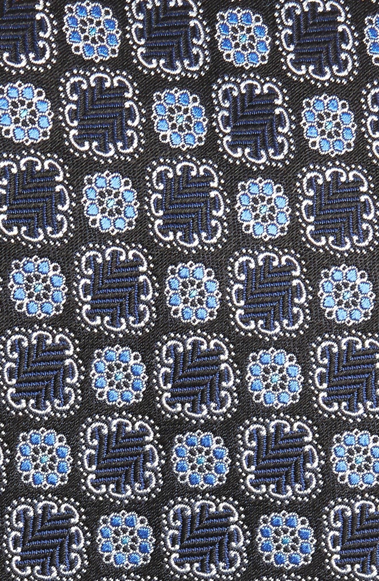 Silk Tie,                             Alternate thumbnail 2, color,                             Blue