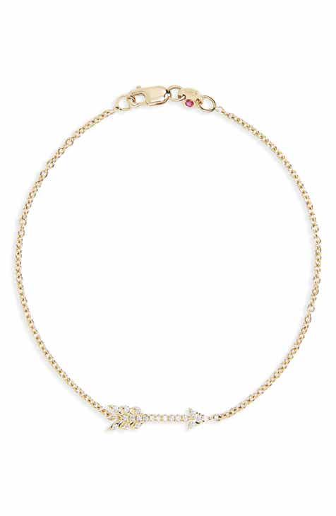 Roberto Coin Diamond Arrow Bracelet