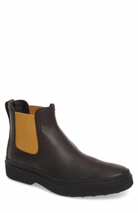 Tod's Casual Water Resistant Chelsea Boot (Men)