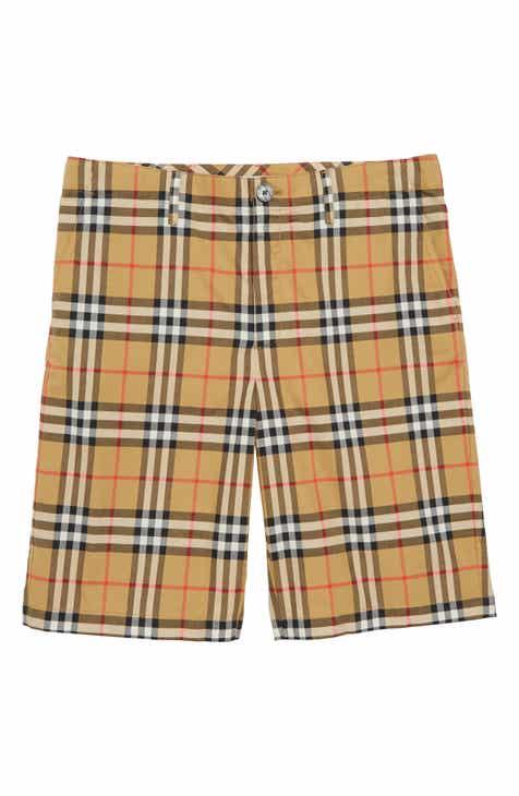 2d28c3c3ab3 Burberry Tristen Check Shorts (Little Boys   Big Boys)