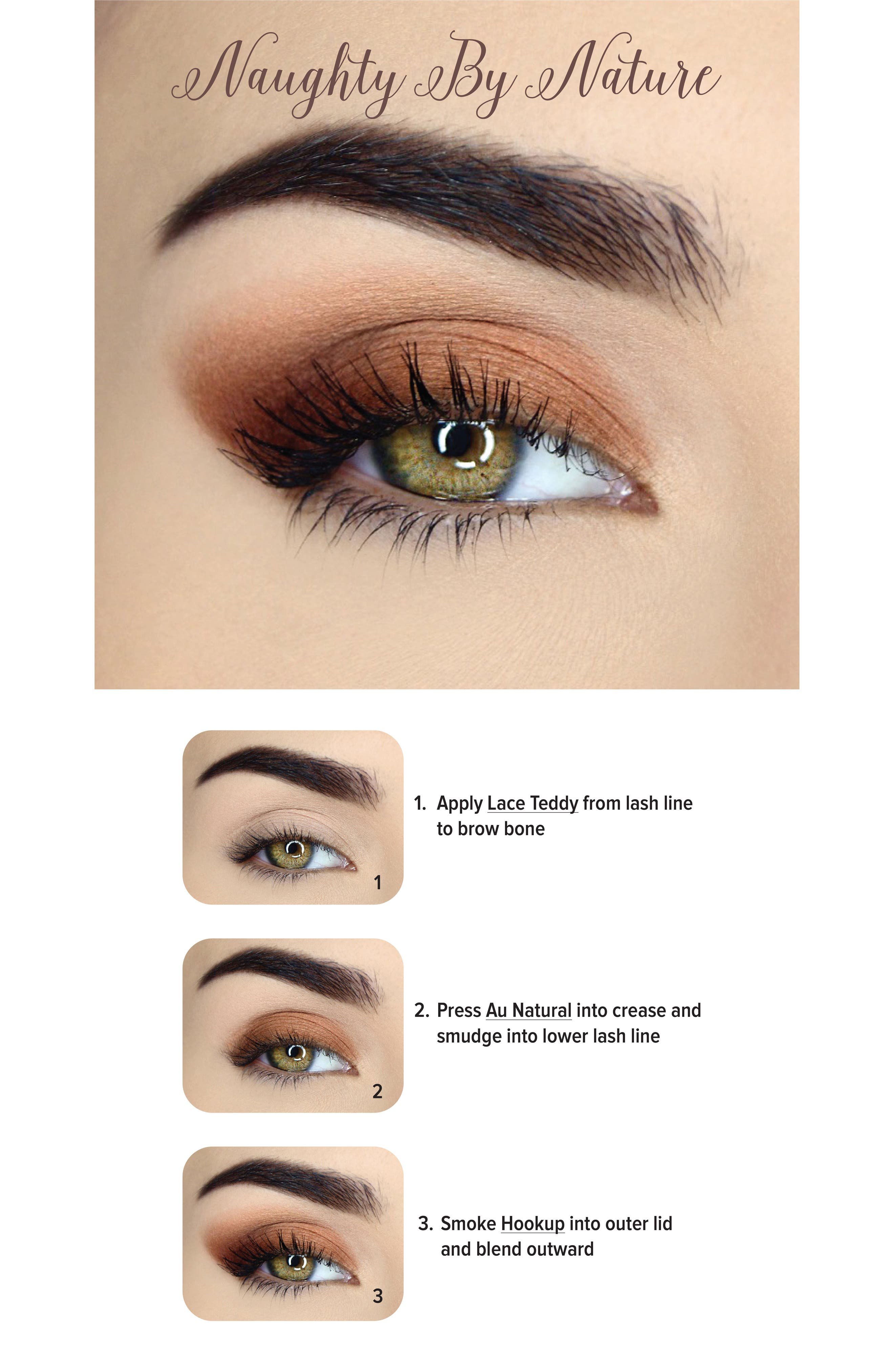 Natural Matte Eyeshadow Palette,                             Alternate thumbnail 3, color,                             No Color