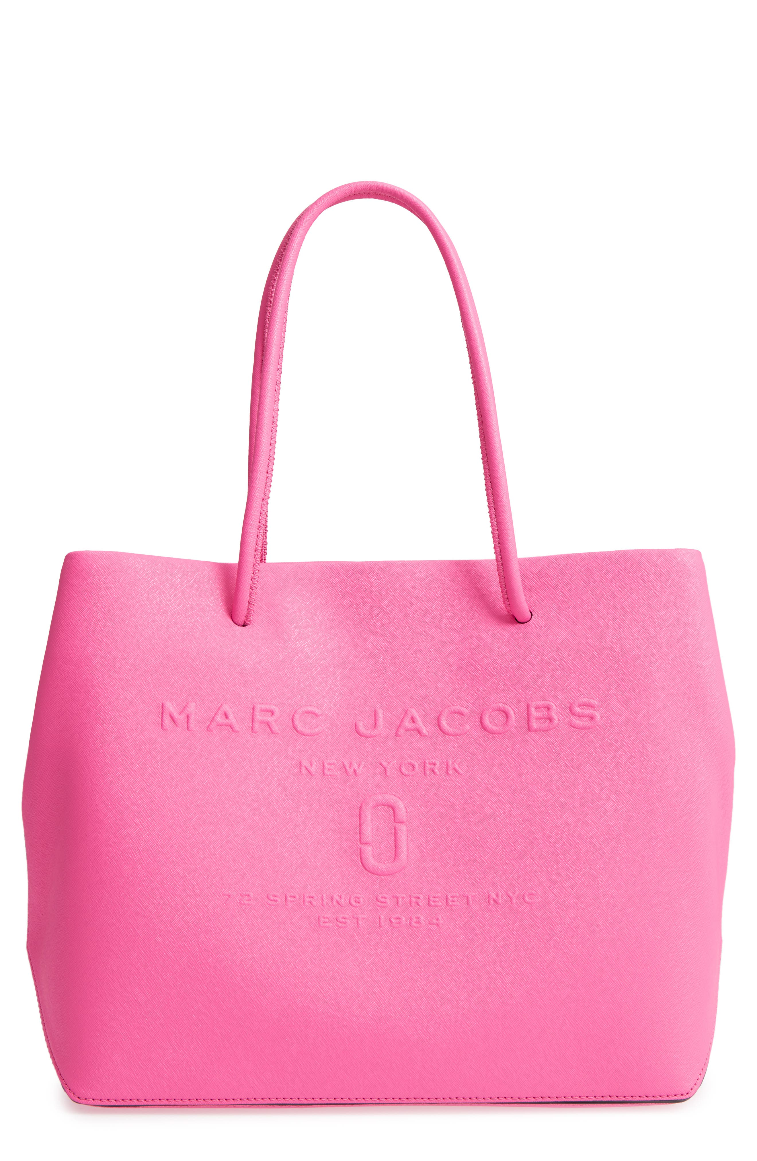Tote Bag, Blackberry, Leather, 2017, one size Marc Jacobs