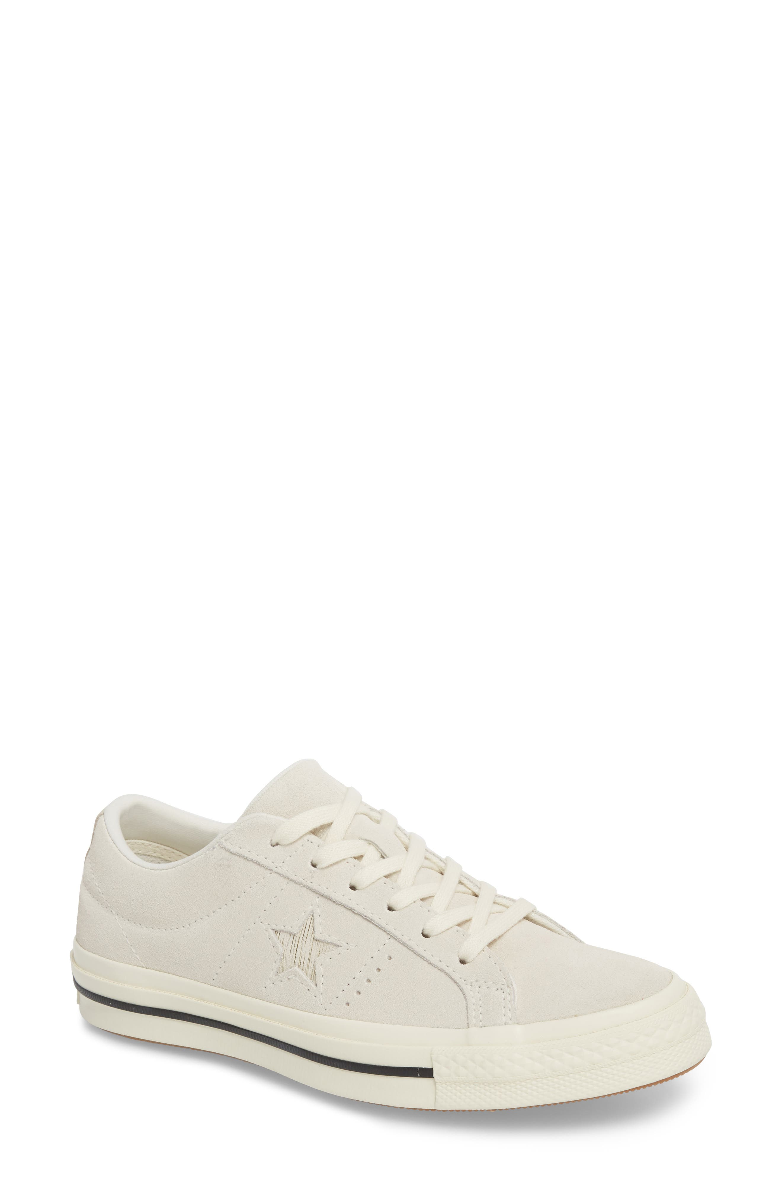 ONE STAR SUEDE LOW TOP SNEAKER