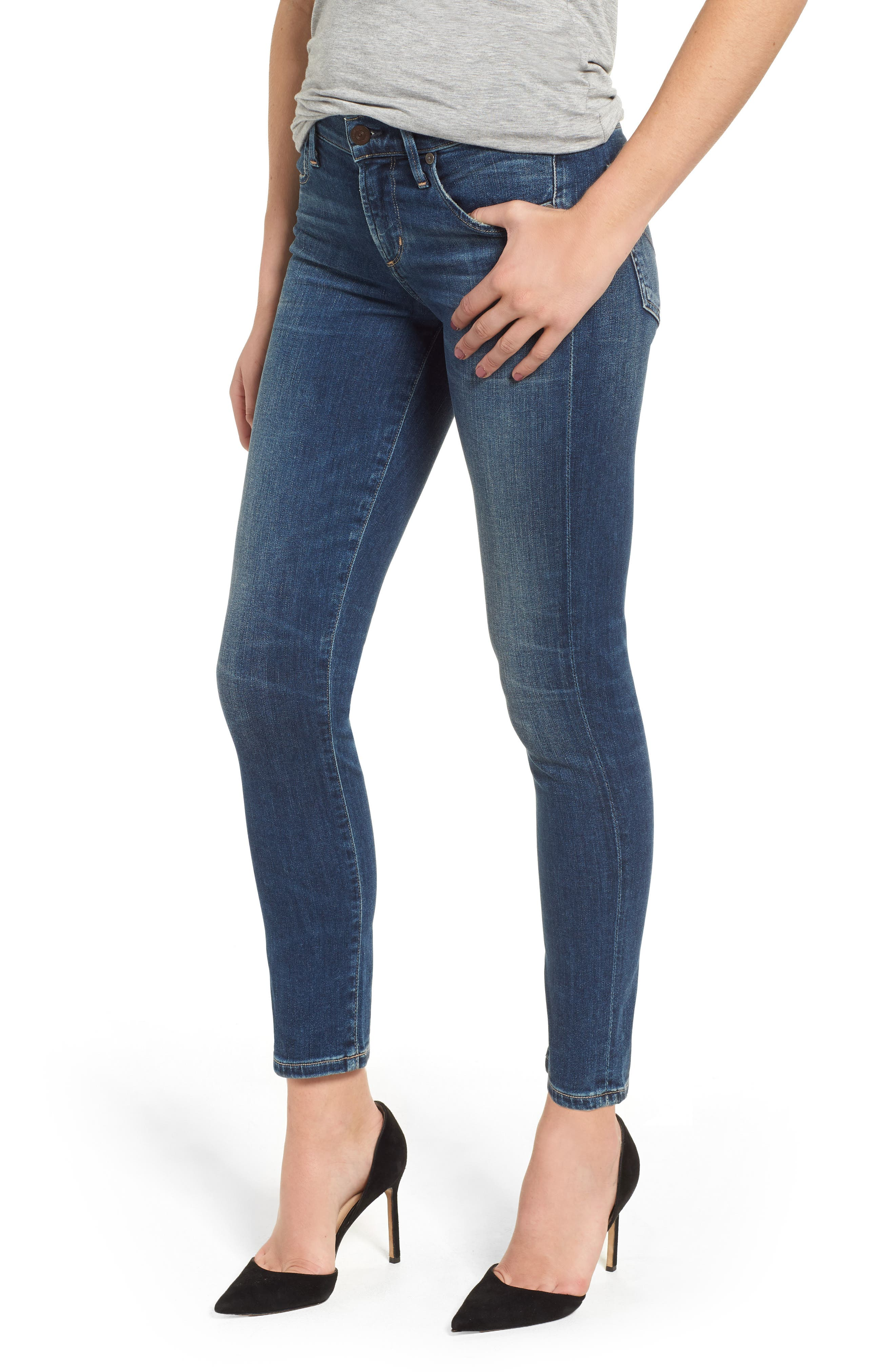Ankle Skinny Jeans,                             Main thumbnail 1, color,                             Modern Love
