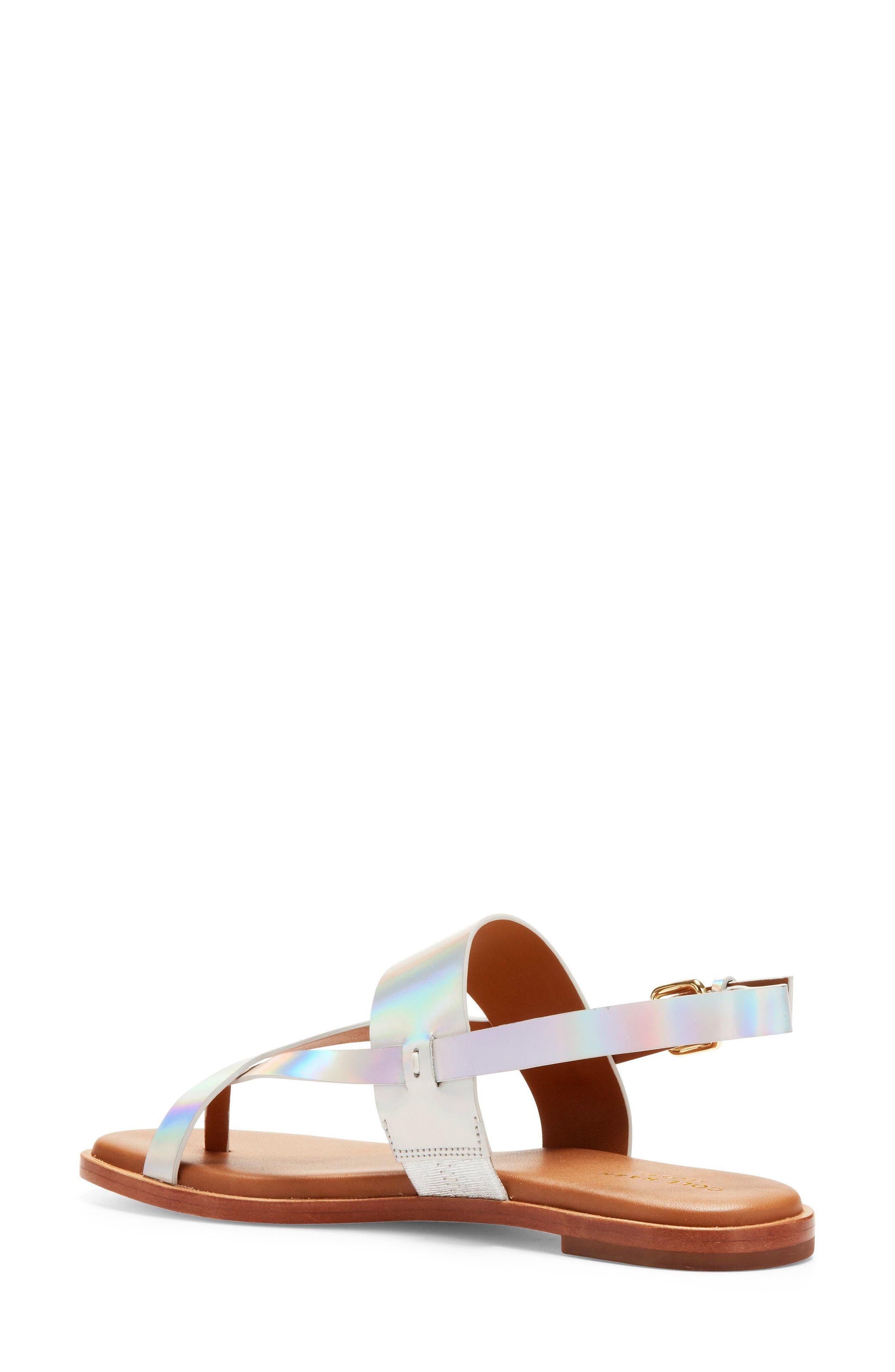 Anica Sandal,                             Alternate thumbnail 2, color,                             Iridescent Leather