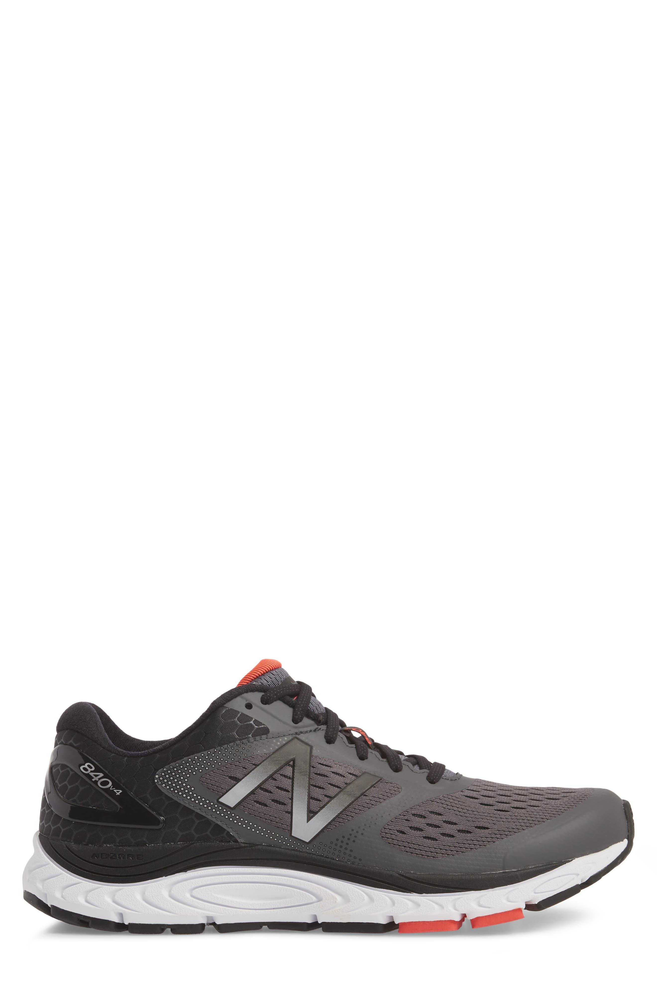 840v4 Running Shoe,                             Alternate thumbnail 4, color,                             Dark Grey