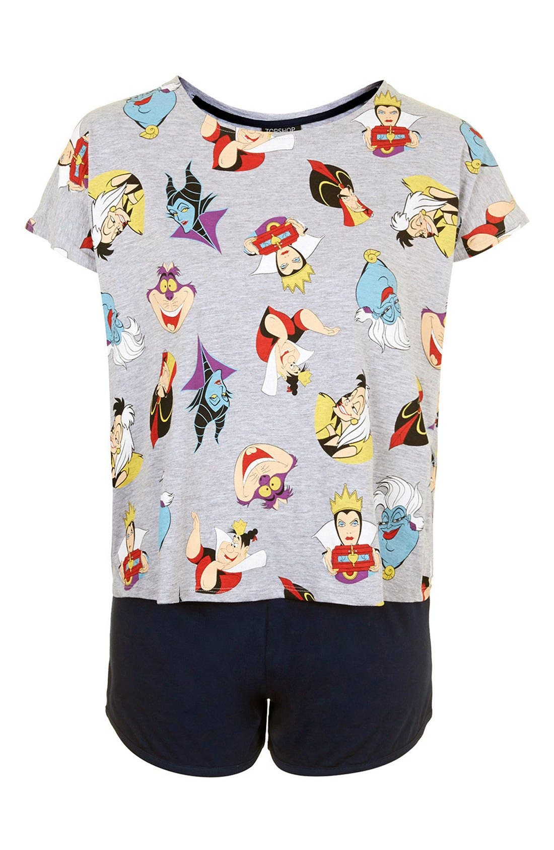 Alternate Image 3  - Topshop Disney Villains Pajama Set