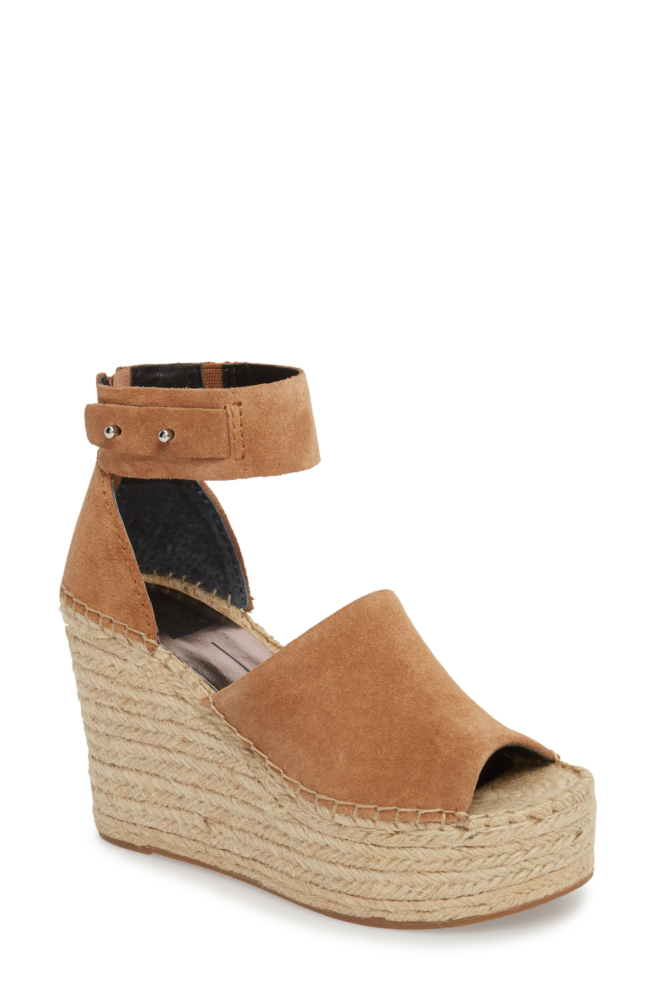 Straw Wedge Espadrille Sandal by Dolce Vita