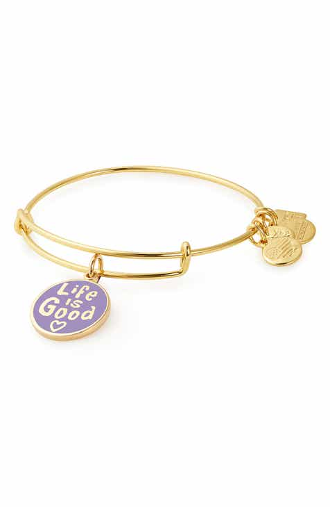 Alex And Ani Charity By Design Life Is Good Bangle