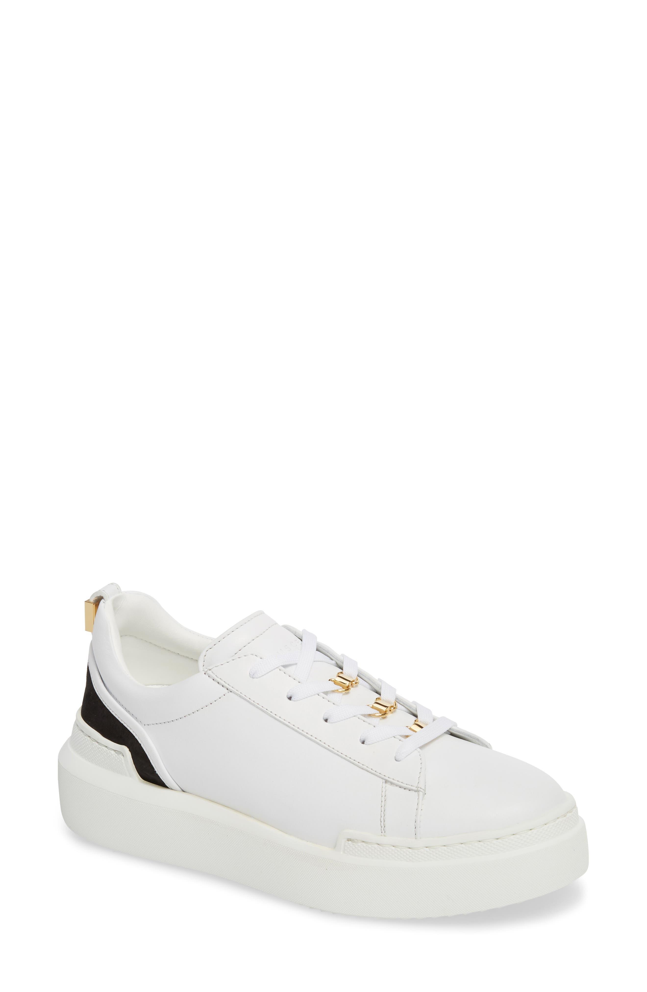 Acne Studios White Leni Sneakers AKa15QFAPS