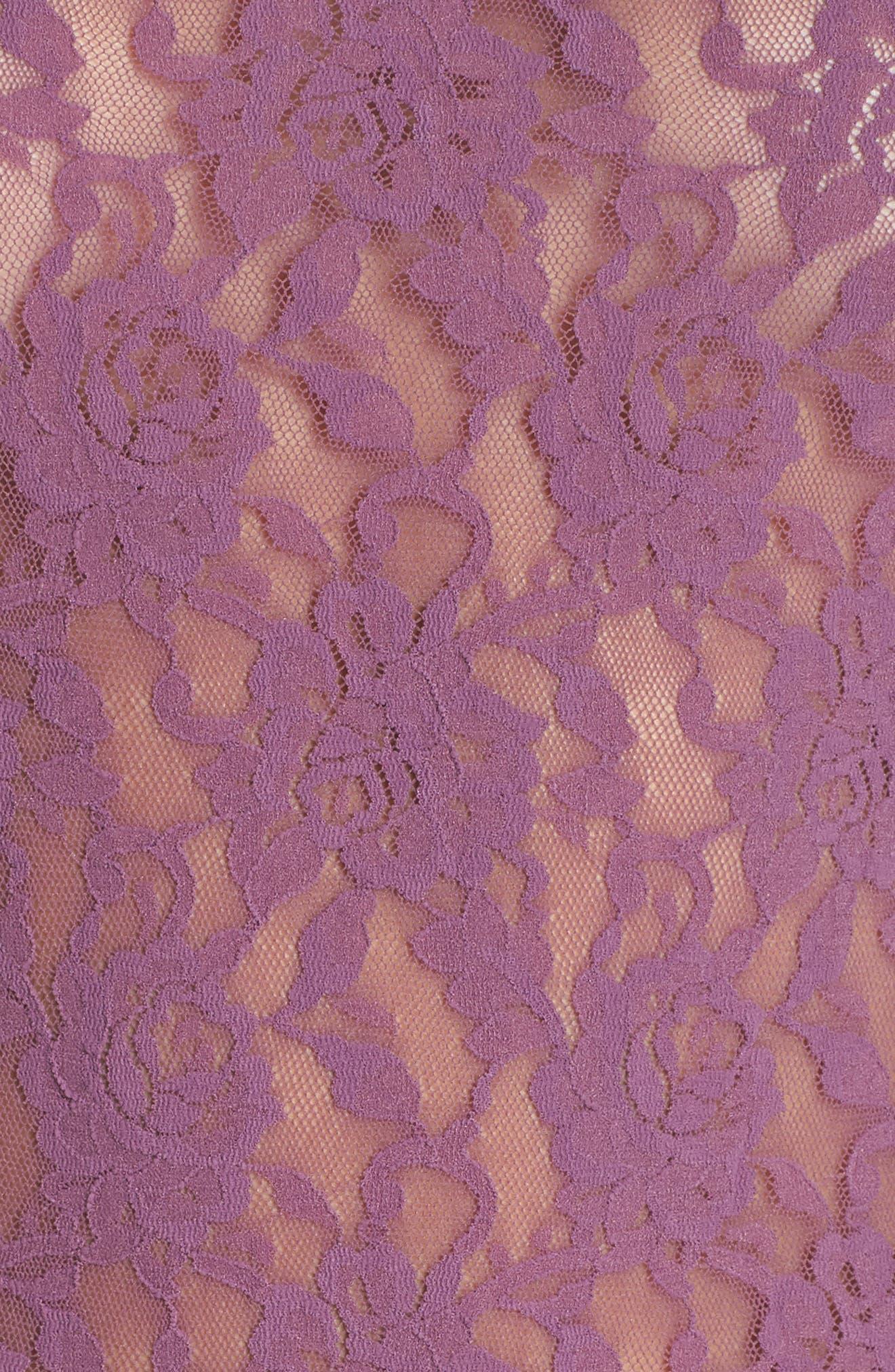 'Signature Lace' Camisole,                             Alternate thumbnail 6, color,                             Valiant Purple