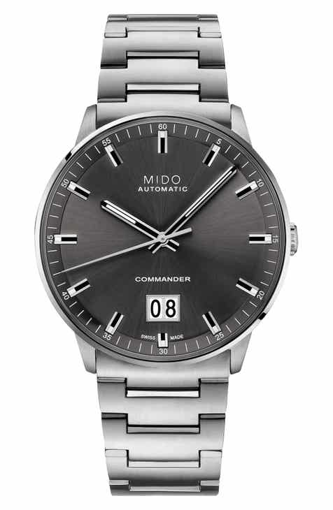 Men 39 s mido watches nordstrom for Mido watches