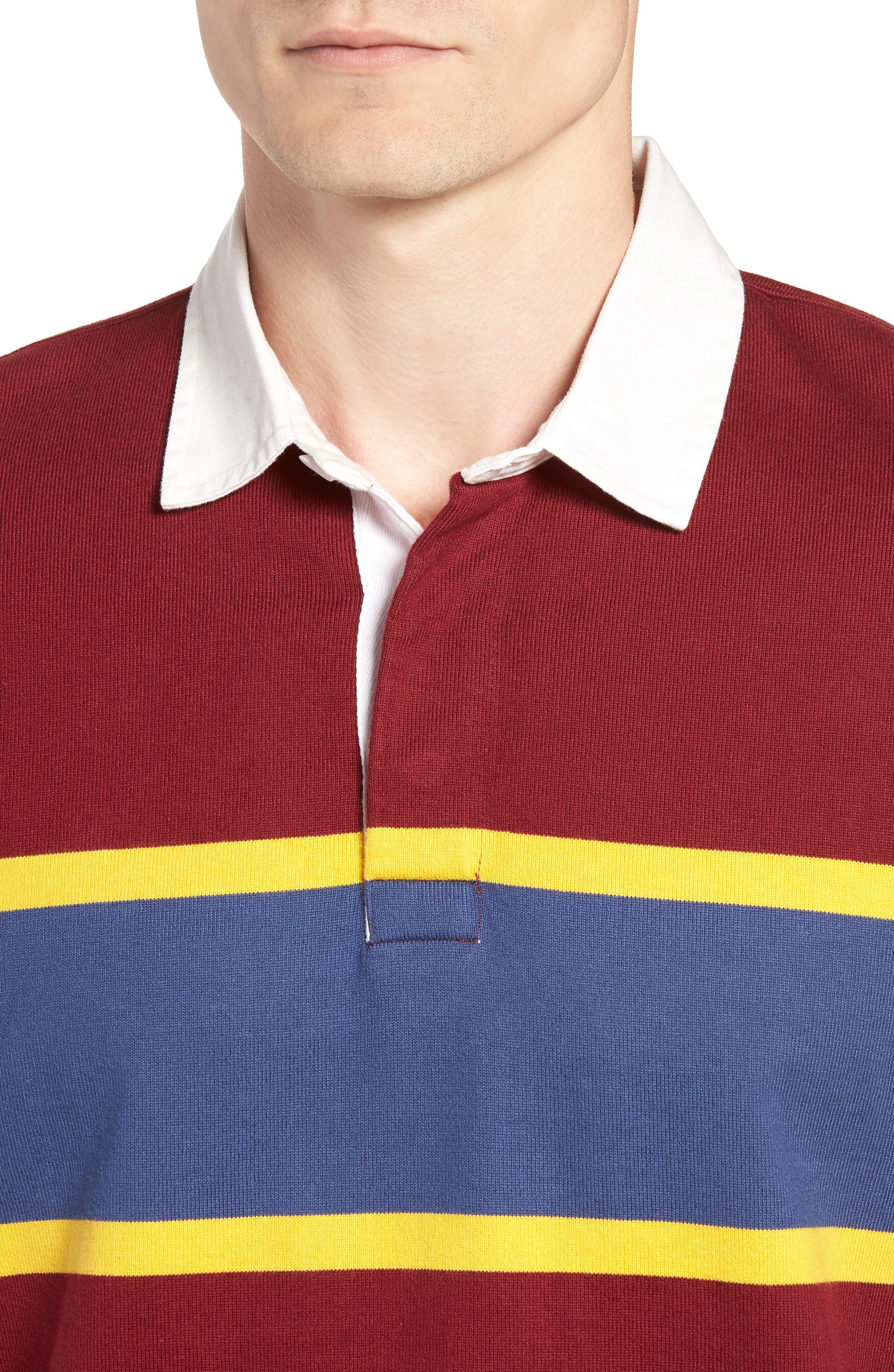 1984 Rugby Shirt,                             Alternate thumbnail 4, color,                             Mahogany