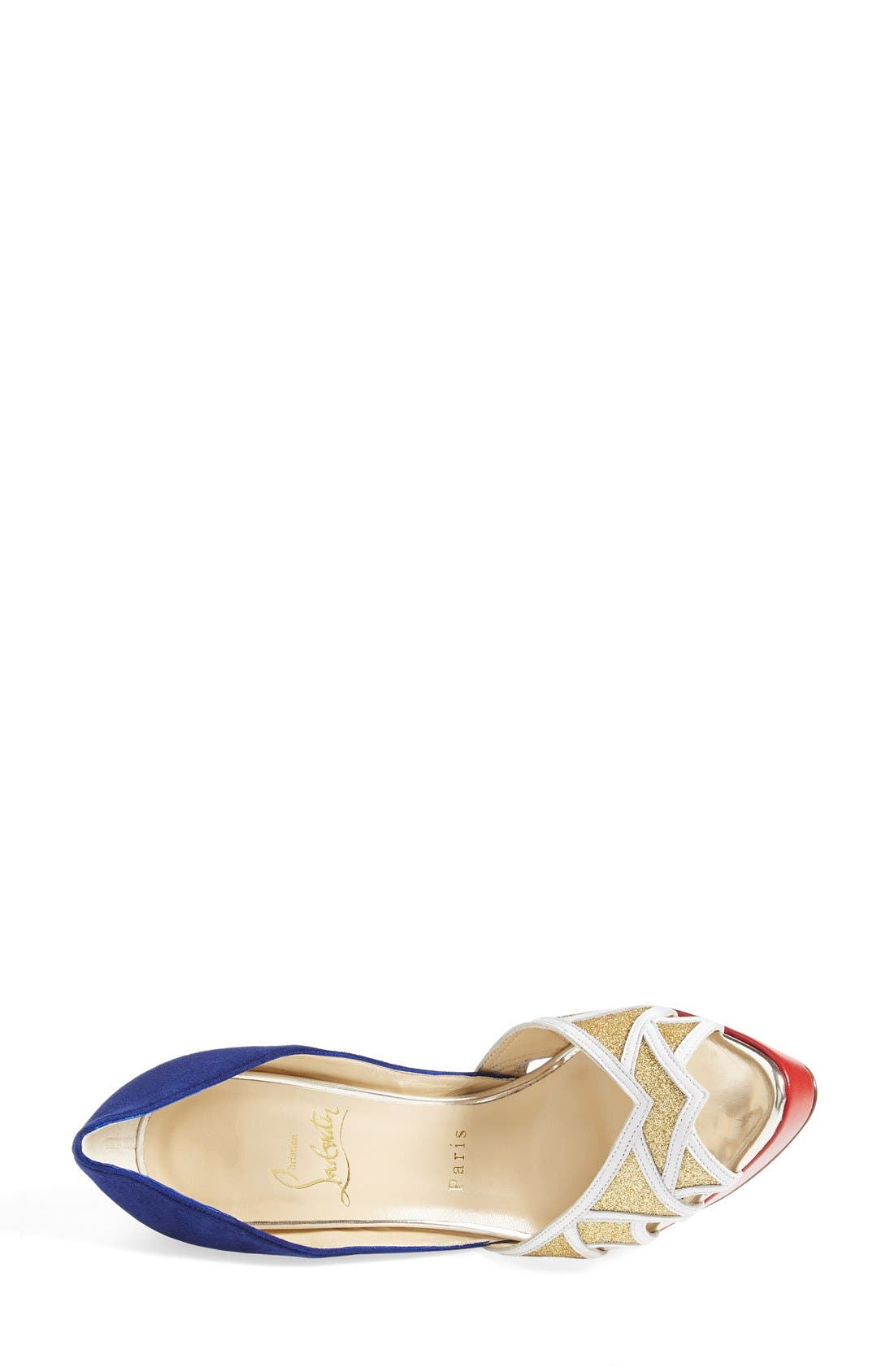 Alternate Image 3  - Christian Louboutin Open Toe Pump