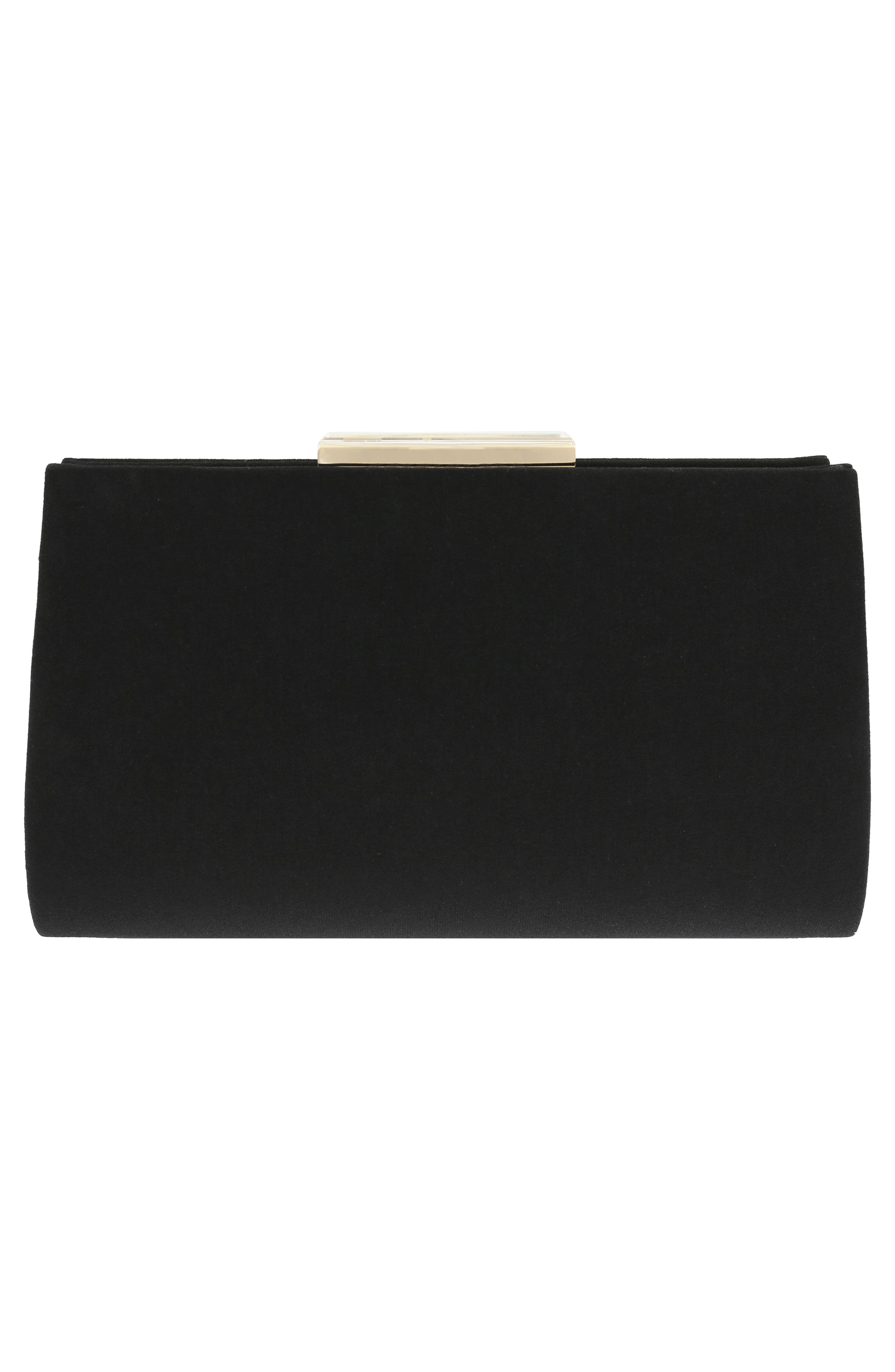 Generous Embellished Clutch,                             Alternate thumbnail 2, color,                             Black