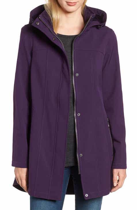 6fe760cffa2 Kristen Blake Hooded Soft Shell Jacket (Regular   Petite)