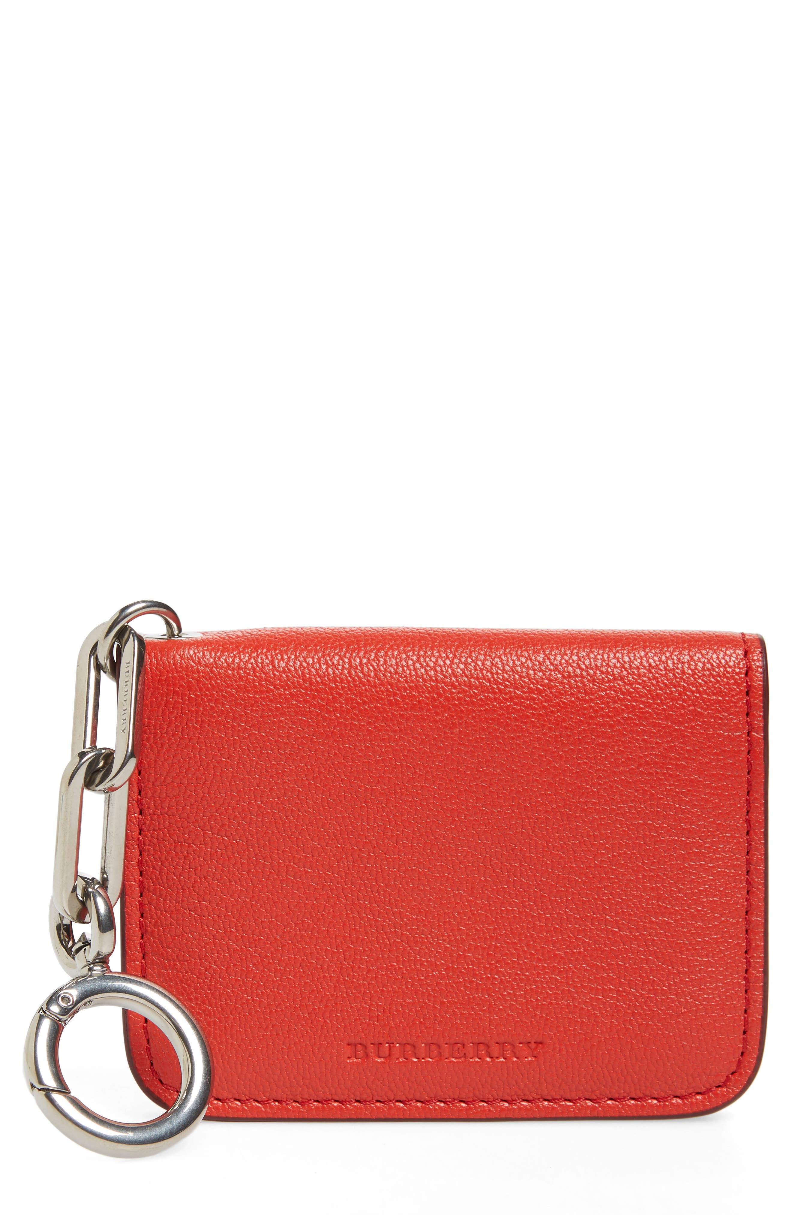 Wallet for Women, Light Red, Leather, 2017, One size Alexander McQueen