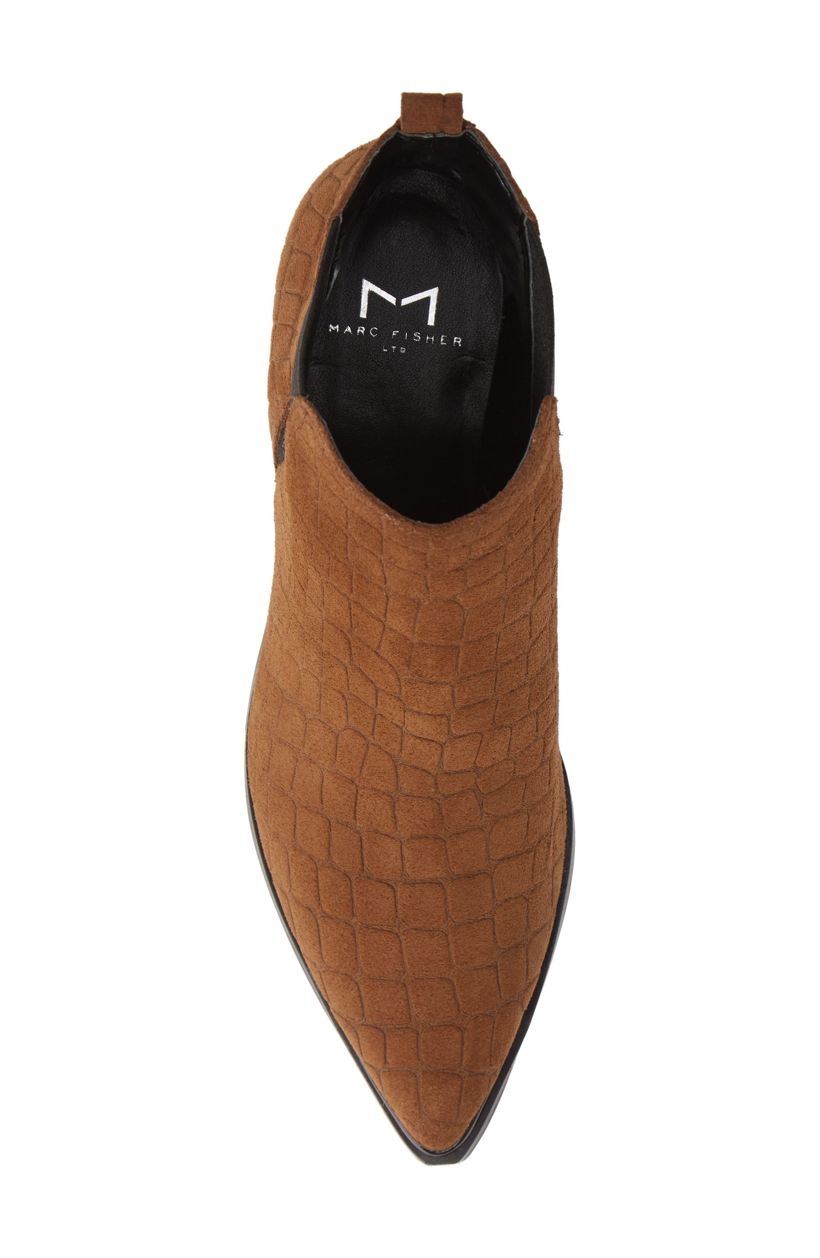 'Yale' Chelsea Boot,                             Alternate thumbnail 3, color,                             Cognac Suede