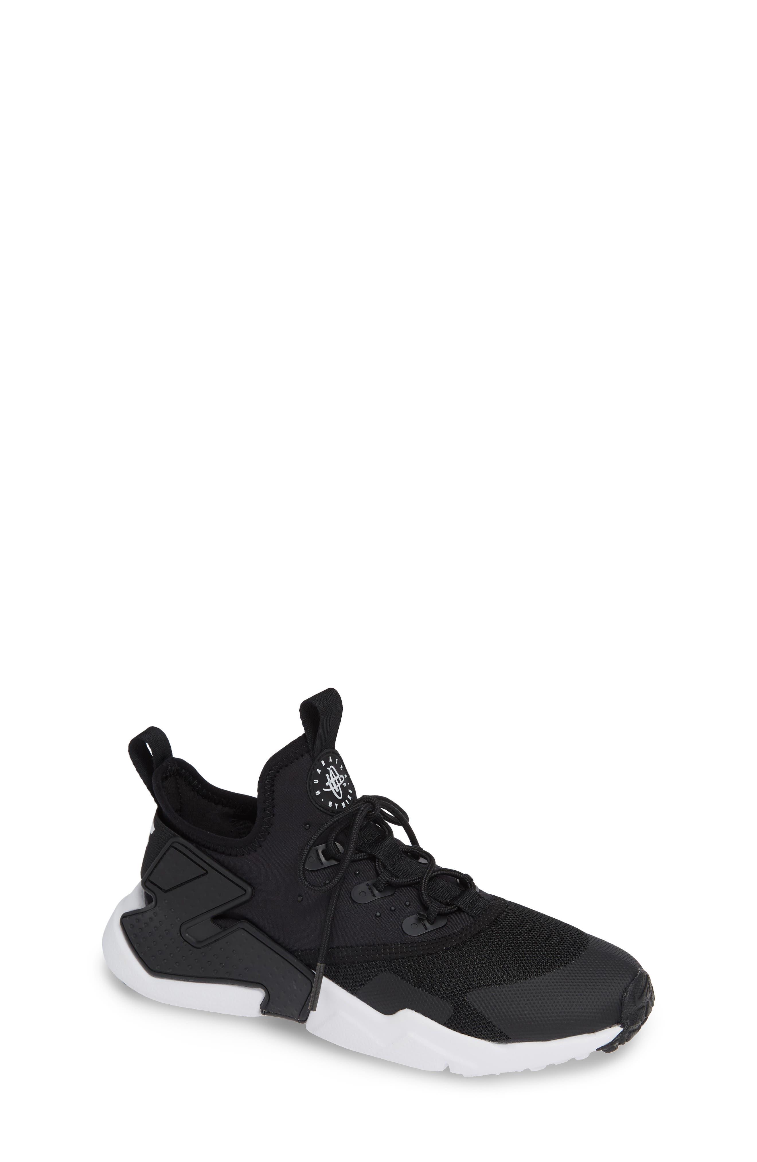 Huarache Run Drift Sneaker,                             Main thumbnail 1, color,                             Black/ Anthracite