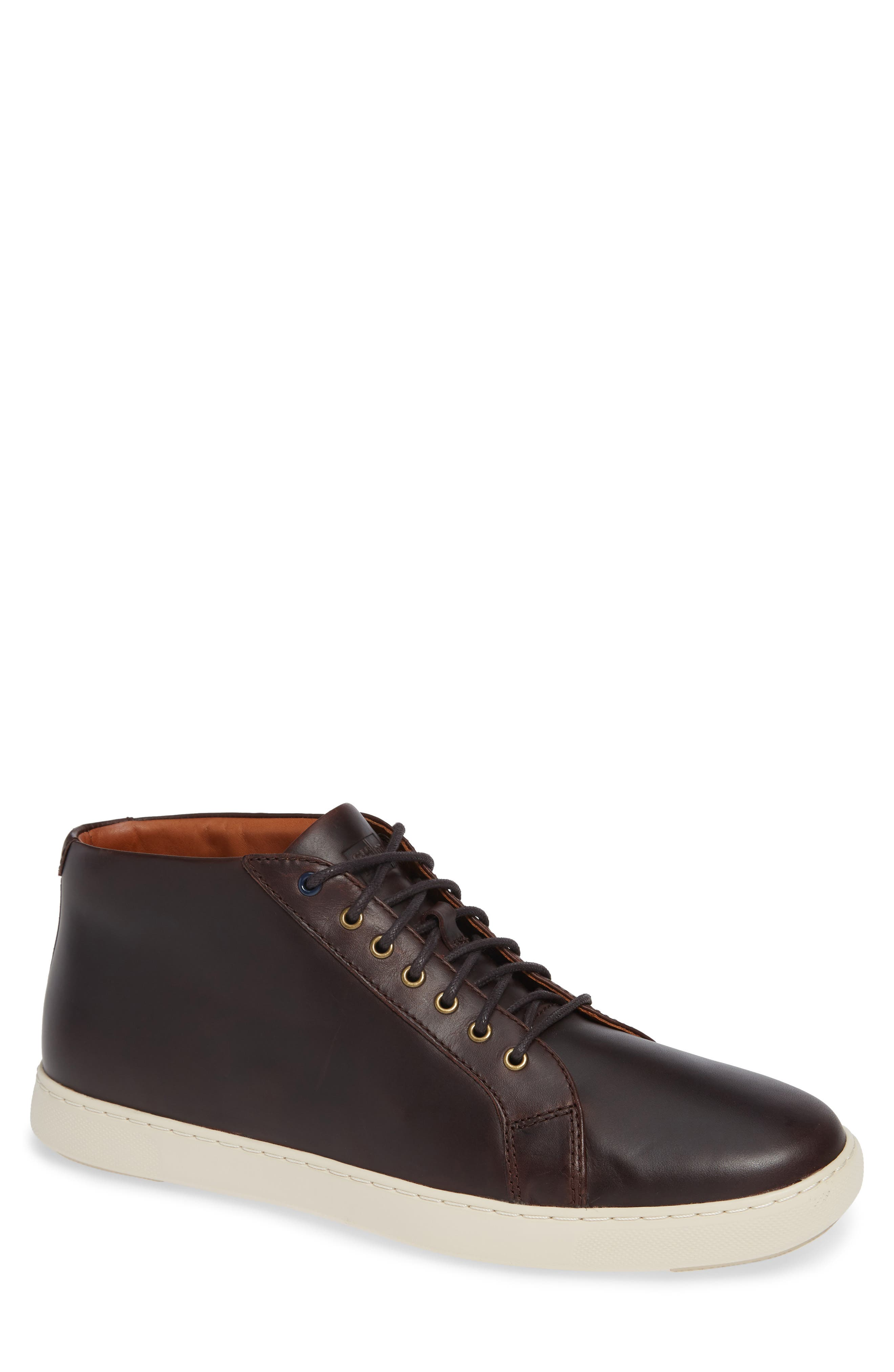 FITFLOP ANDOR HIGH TOP LACE-UP SNEAKER