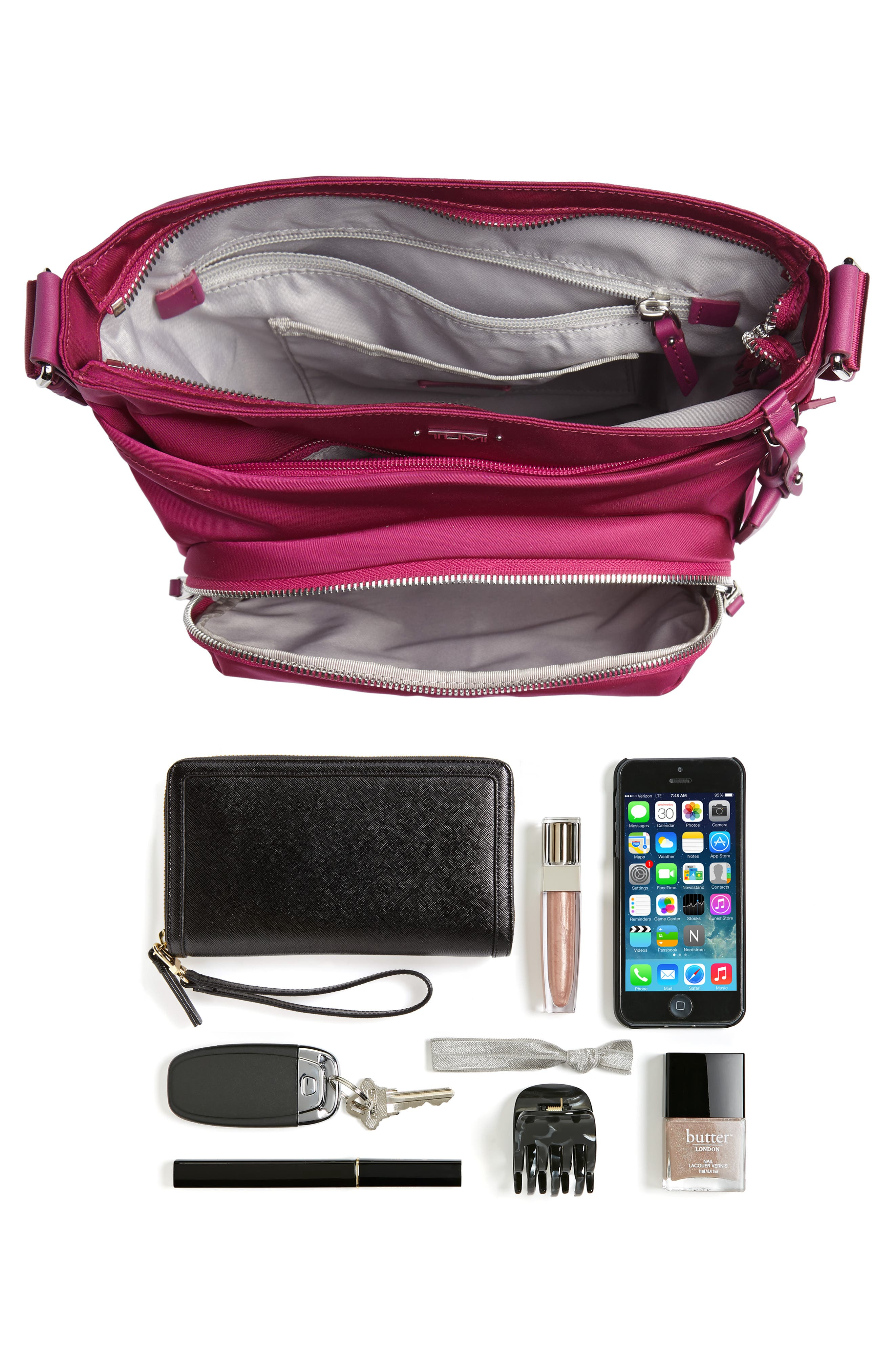 Voyager - Capri Nylon Crossbody Bag,                             Alternate thumbnail 7, color,