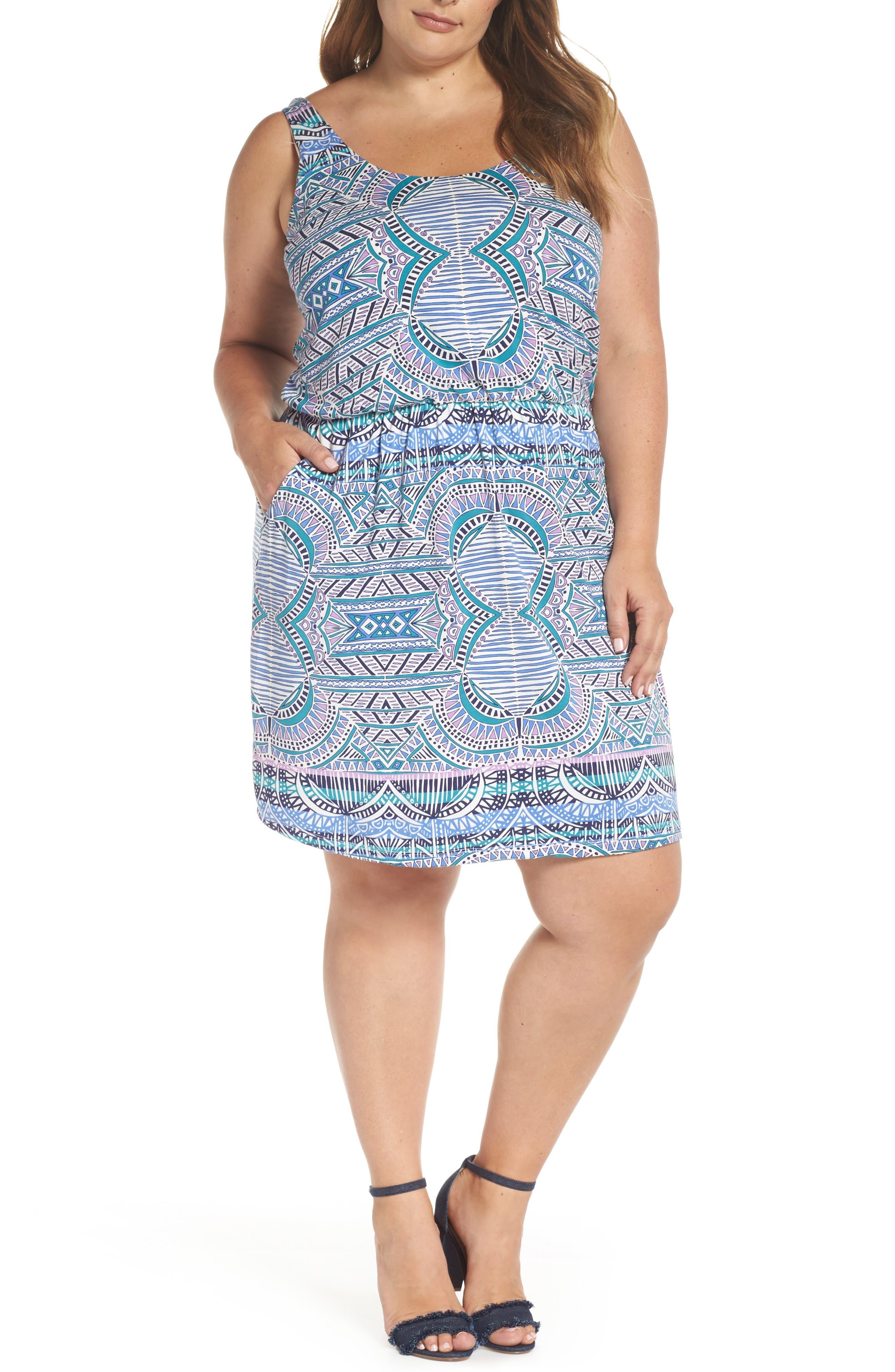 TART Felicity Minidress in Sunset Tiles