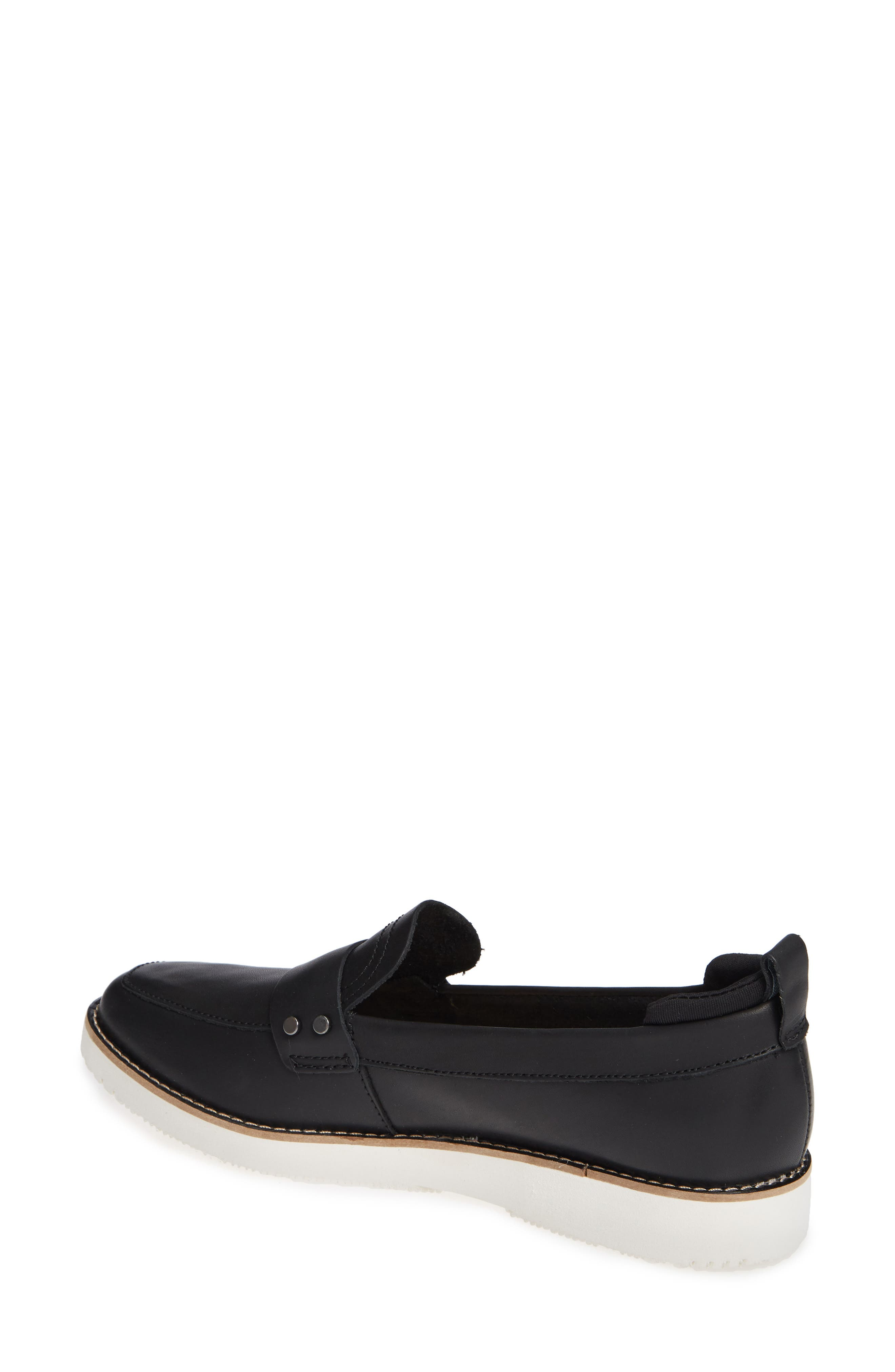 Chowchow Loafer,                             Alternate thumbnail 2, color,                             Black Leather