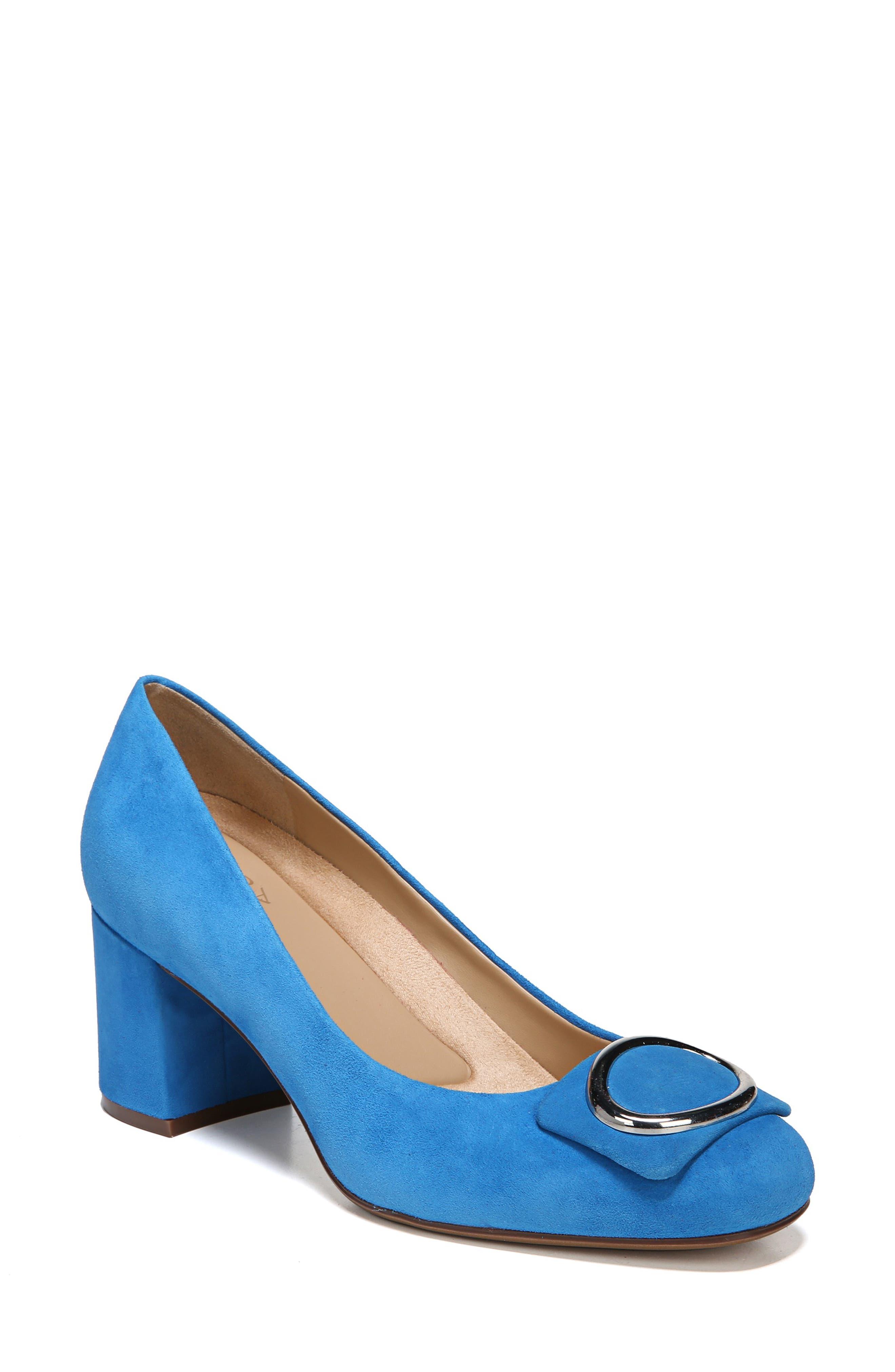 Wright Pump,                         Main,                         color, Bauhaus Blue Suede