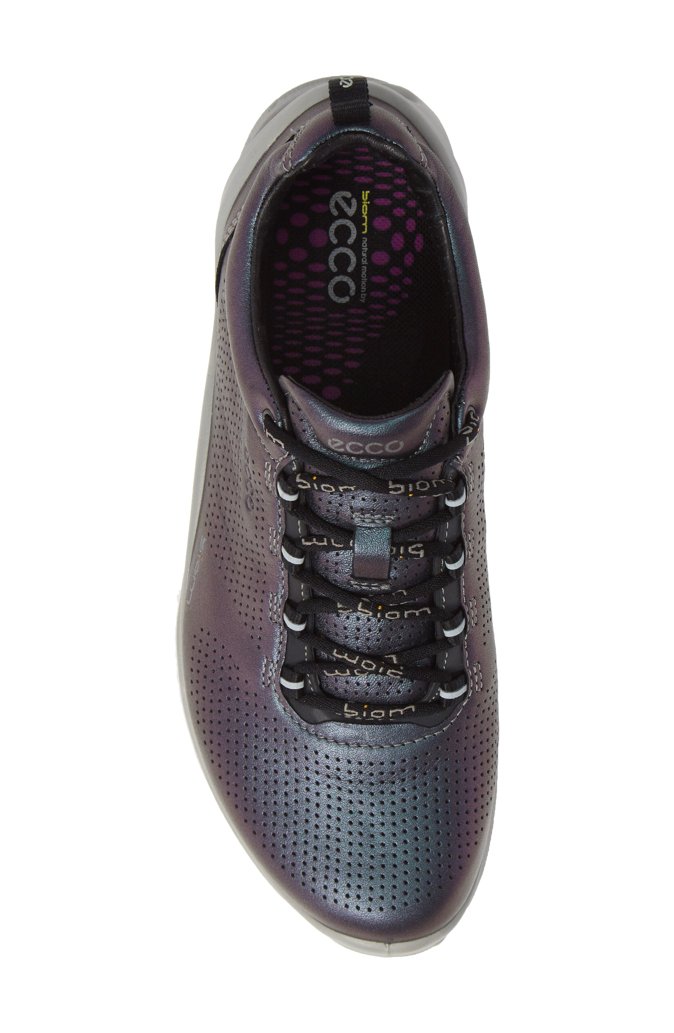 'Biom Fjuel' Sneaker,                             Alternate thumbnail 4, color,                             Iridescent Leather
