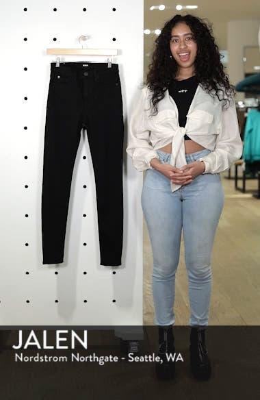Barbara High Waist Skinny Jeans,                             Alternate thumbnail 6, color,