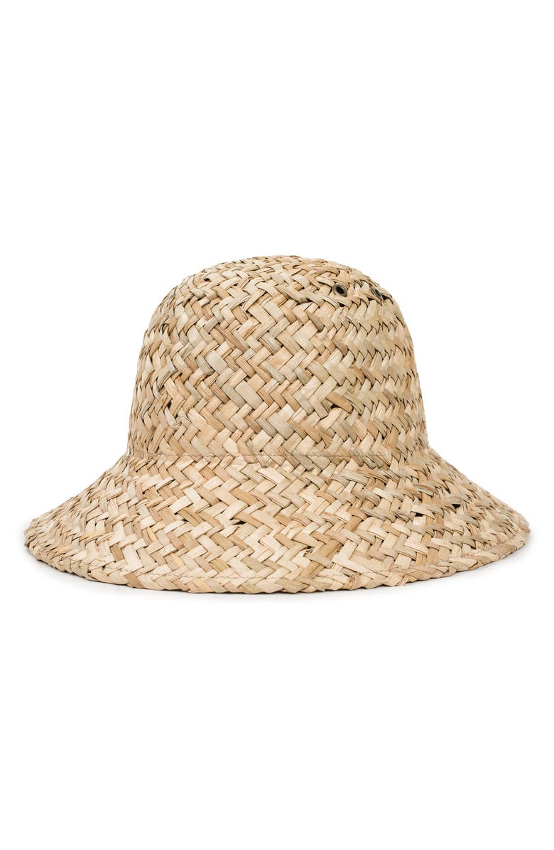 Brixton KENNEDY STRAW HAT - BROWN
