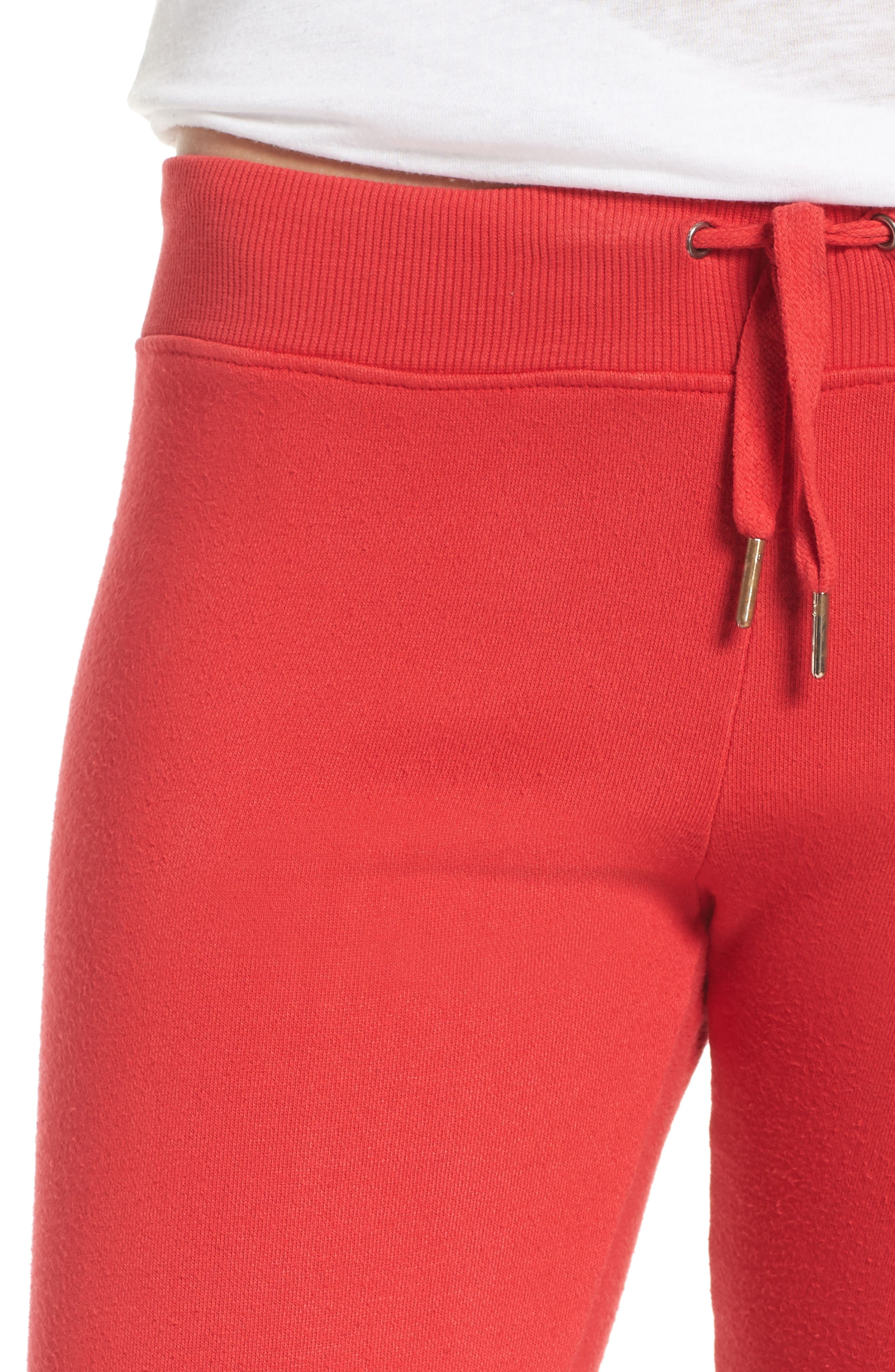 Loung Sweatpants,                             Alternate thumbnail 6, color,                             Poppy