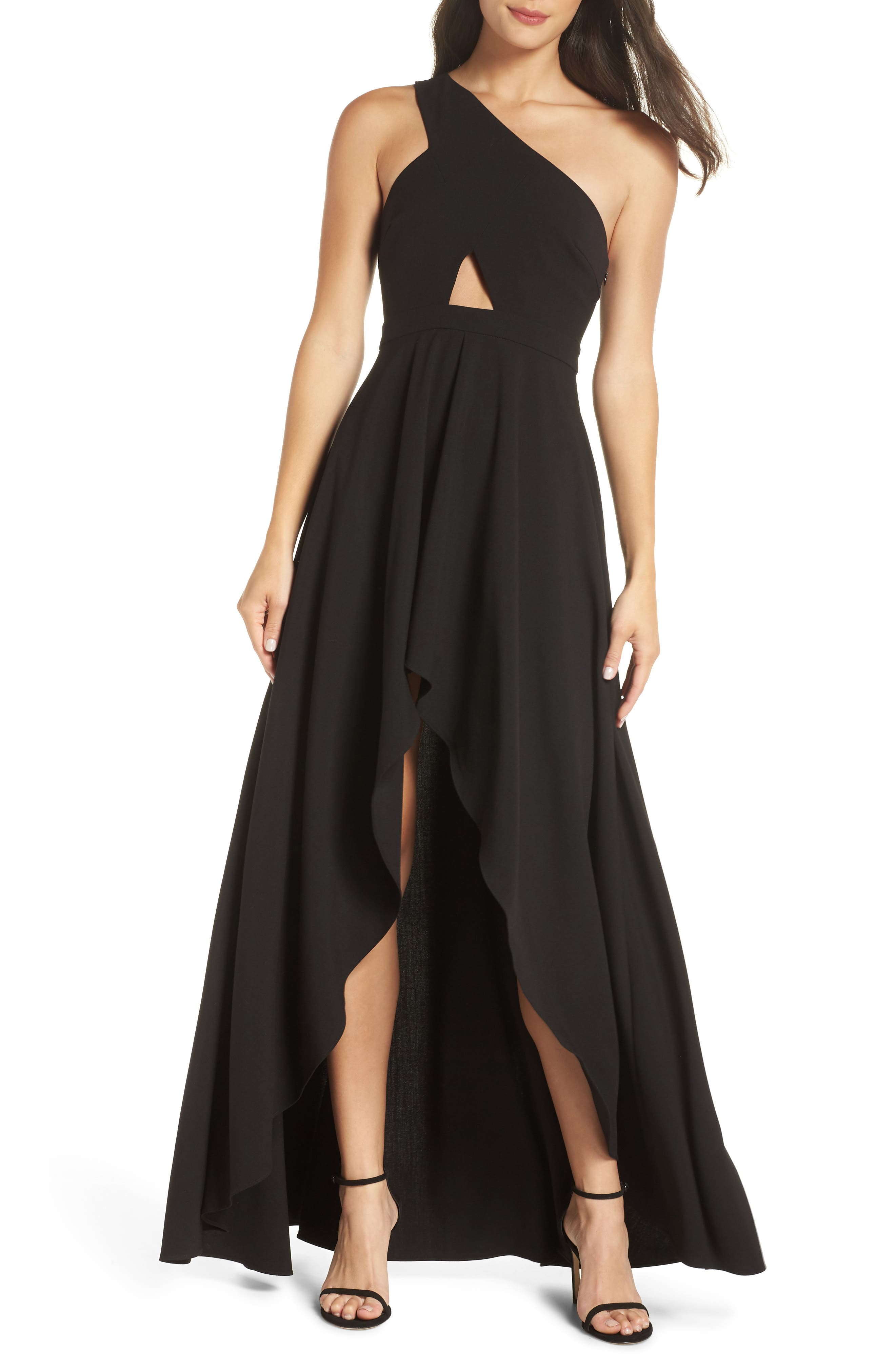 FAME AND PARTNERS ZAYLEE HIGH/LOW GOWN
