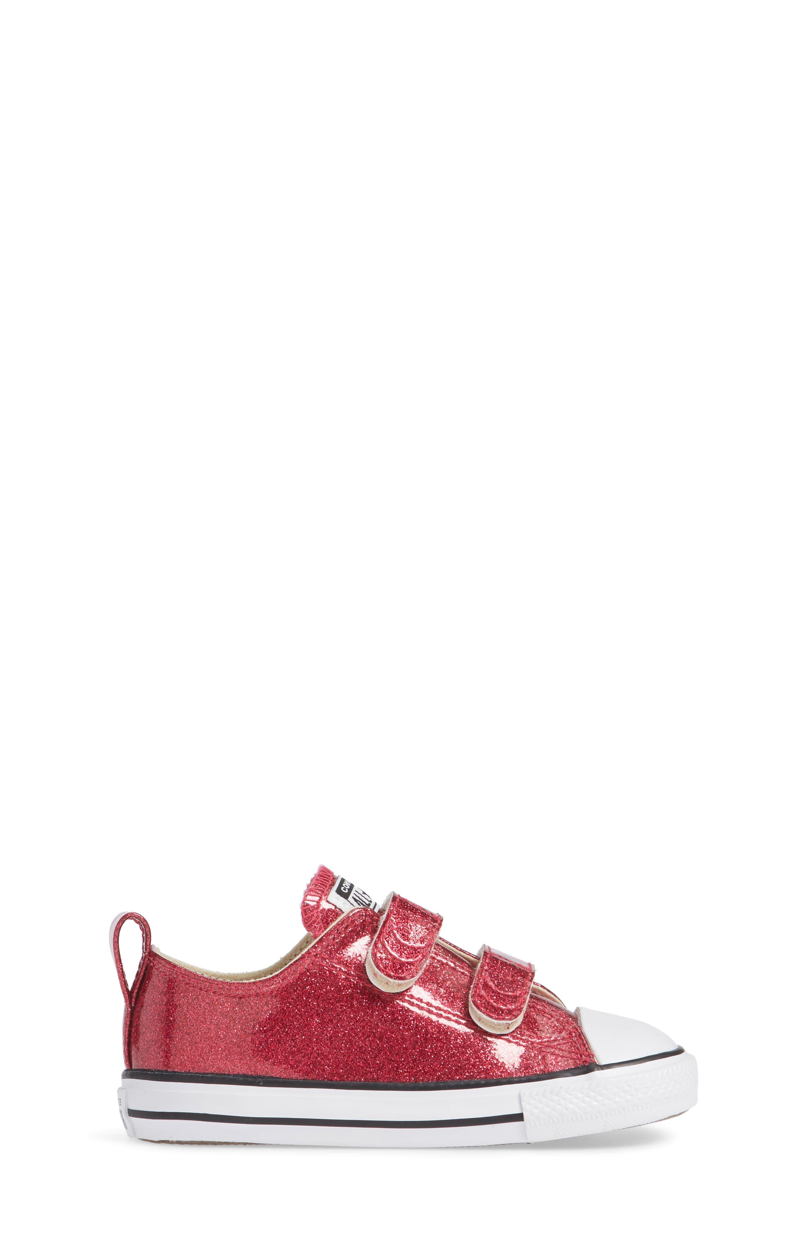All Star<sup>®</sup> Seasonal Glitter Sneaker,                             Alternate thumbnail 4, color,                             Pink Pop