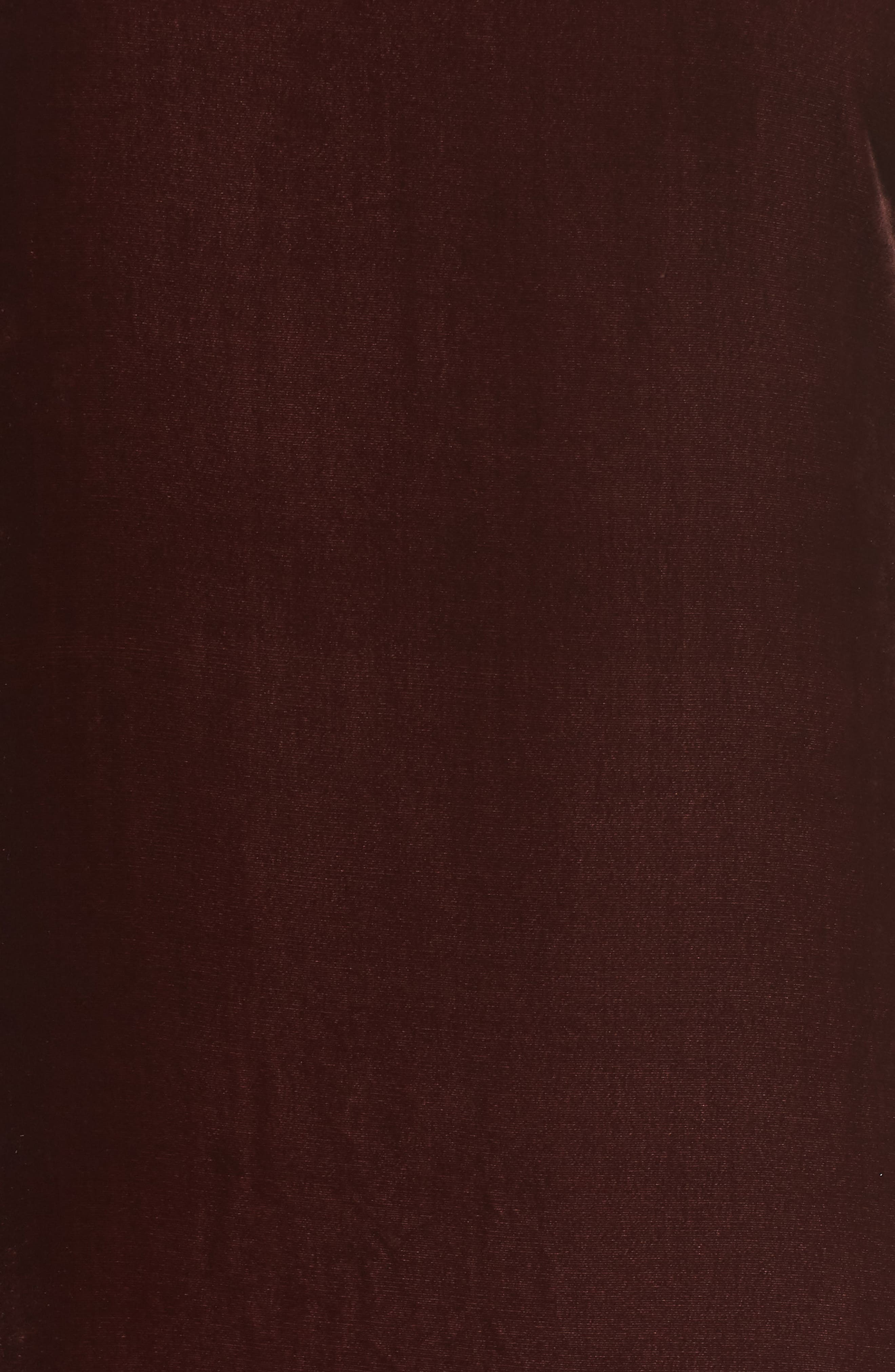 Velvet Shift Dress,                             Alternate thumbnail 2, color,                             Dark Monterey