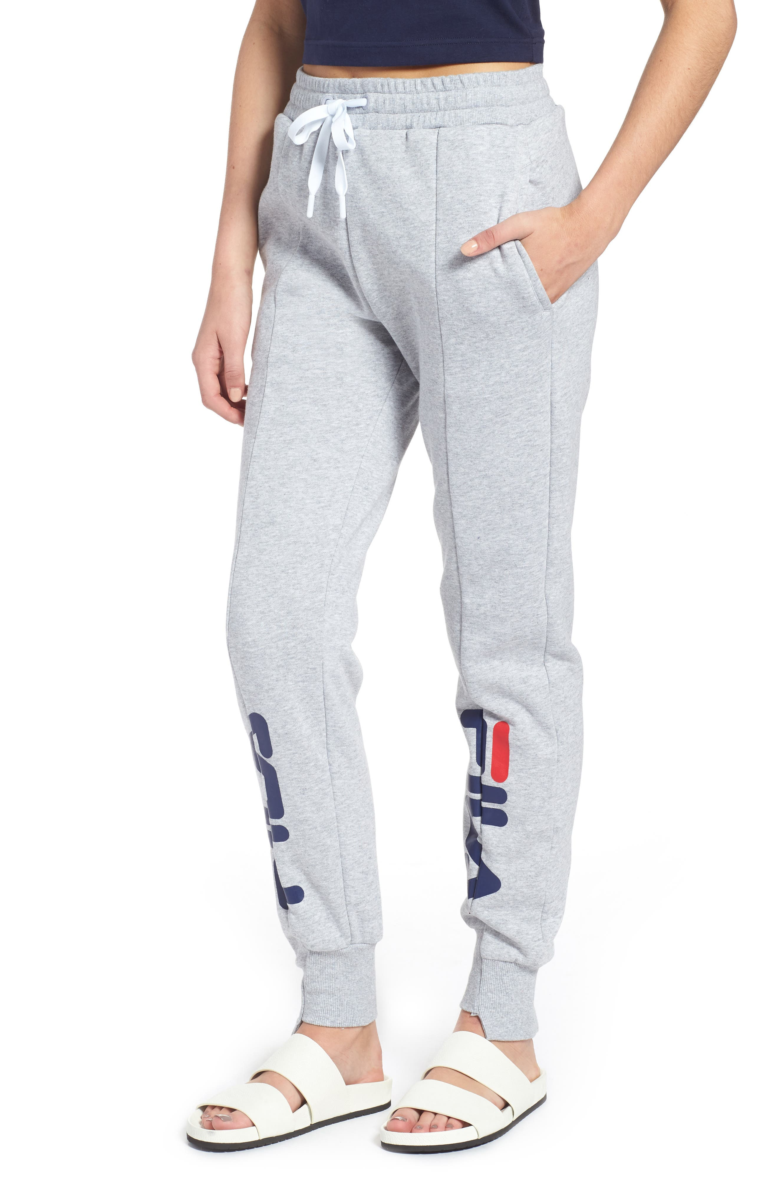 ALESSIA RECONSTRUCTED JOGGERS