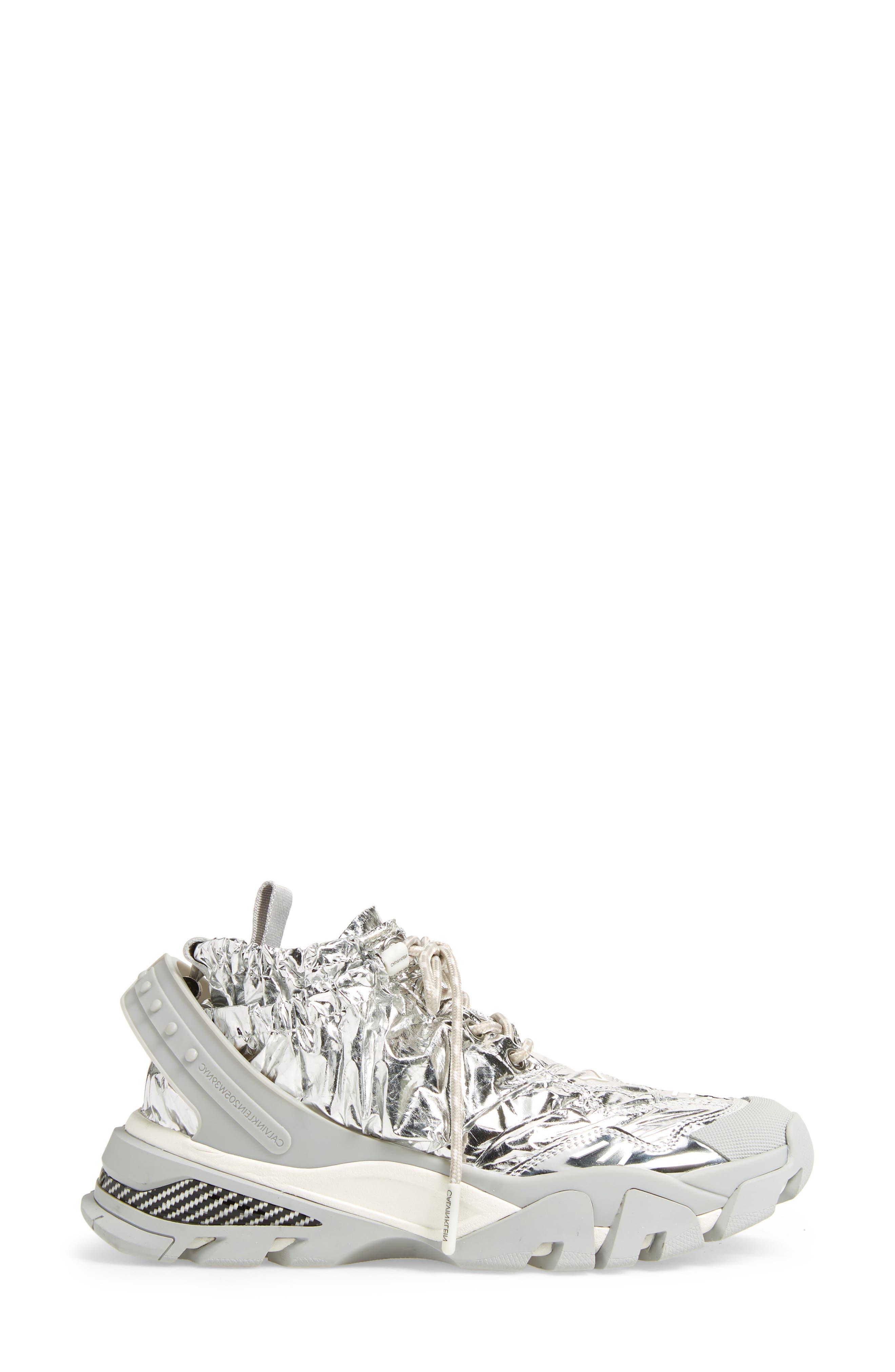 Caramene Sneaker,                             Alternate thumbnail 6, color,                             Grey/ White