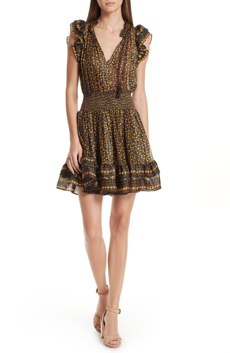 Nyssa Floral Silk Blend Dress