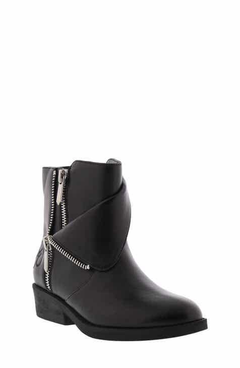 d78ec331d5198 Sam Edelman Becka Tessa Faux Leather Moto Boot (Toddler