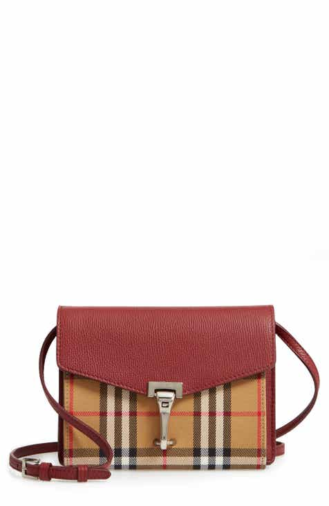 bb7f9eb41ec8 Burberry Baby Macken Vintage Check Crossbody Bag
