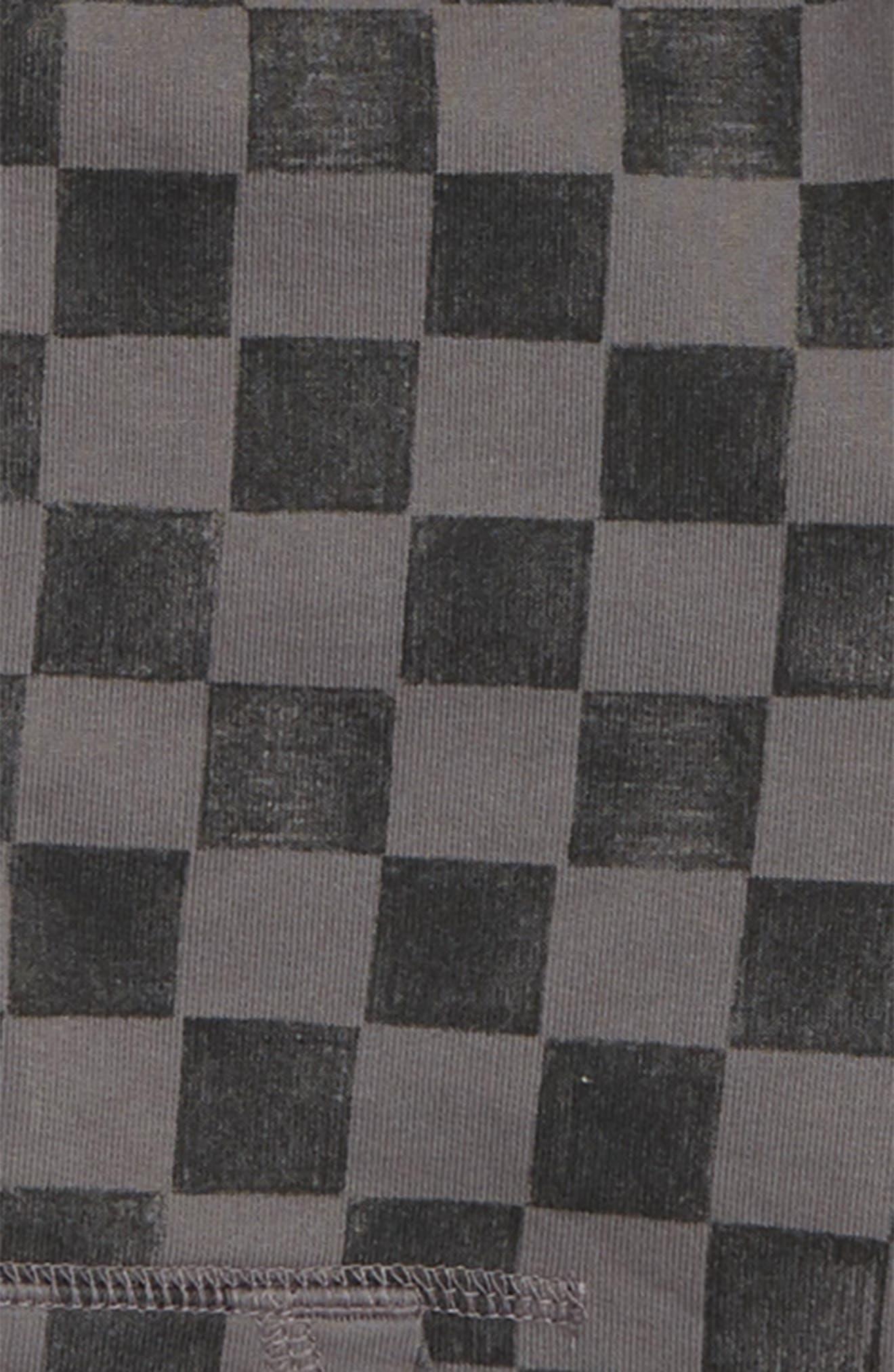 Checkerboard Zip Hoodie,                             Alternate thumbnail 2, color,                             Soho Squares
