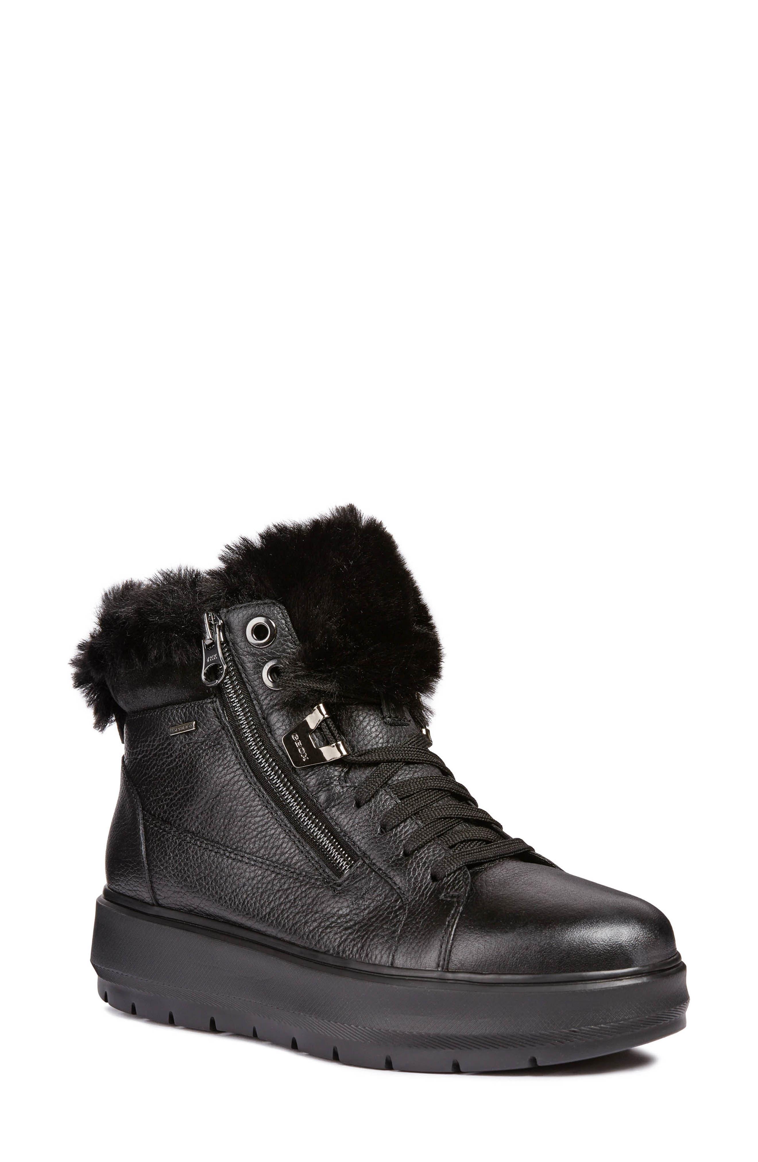 geox winter boots sale, Geox girls' jr creamy c hi top