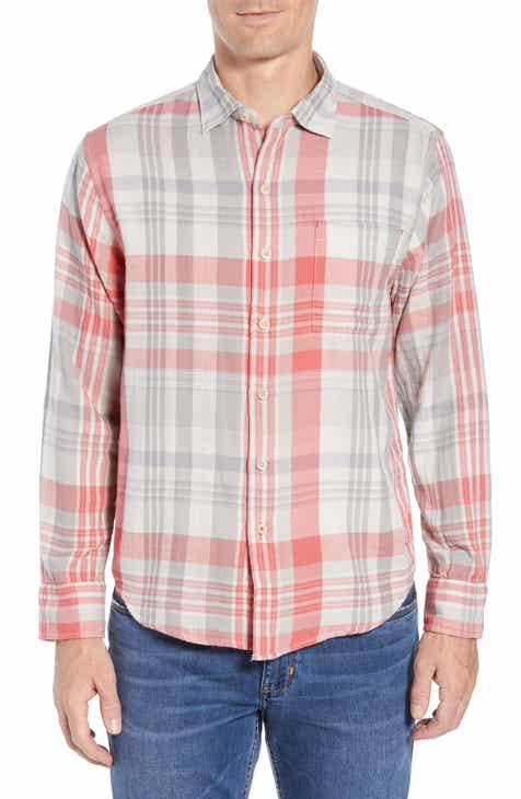 Tommy Bahama Monteverde Madras Regular Fit Shirt